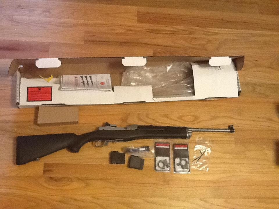 Ruger Mini Thirty in 7.62x39mm All Weather Stainless Steel w/2 magazines and scope rings Mini 14 Mini 30 New in Box  Guns > Rifles > Ruger Rifles > Mini-14 Type