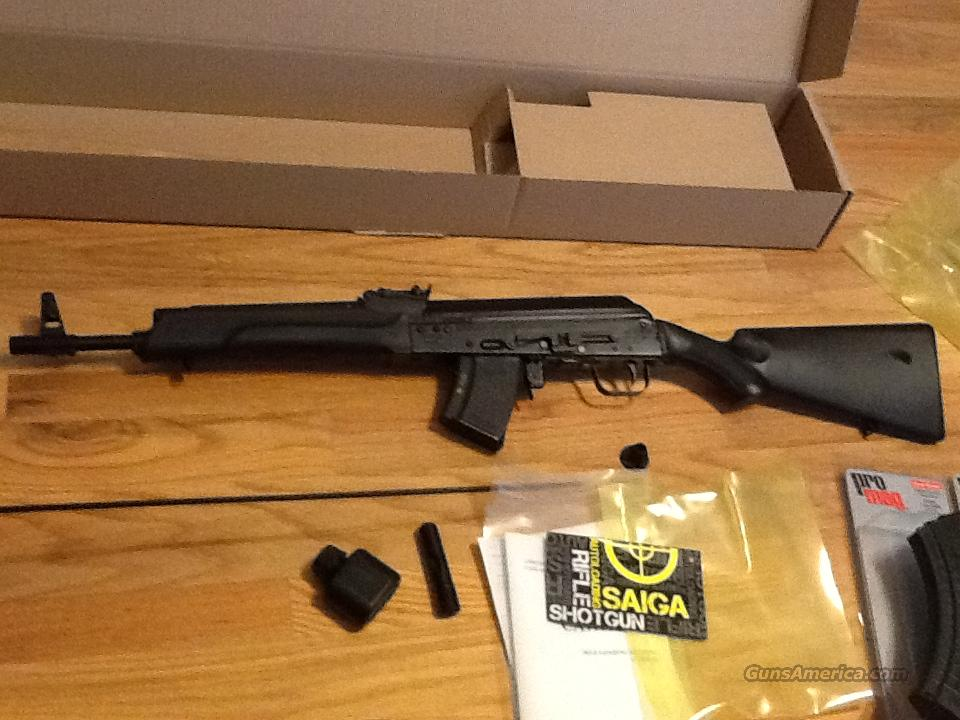 Saiga AK47 in 7.62x39mm AK-47 New in box  Guns > Rifles > AK-47 Rifles (and copies) > Full Stock