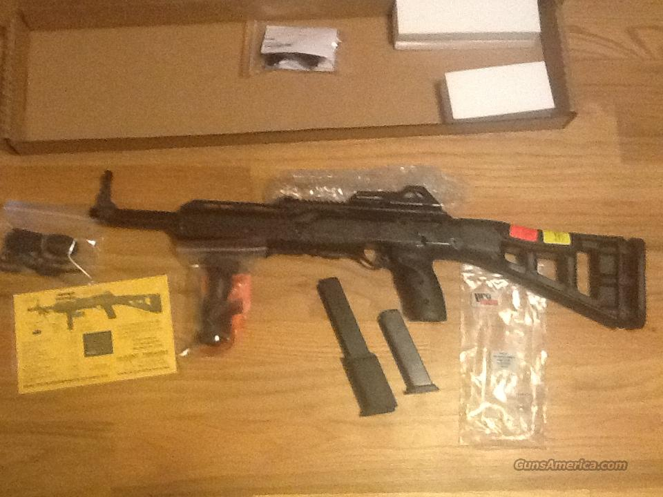 Hi Point 9mm Carbine ( 995 ) w/one 15 and one 10 round magazine New in box  Guns > Rifles > Hi Point Rifles