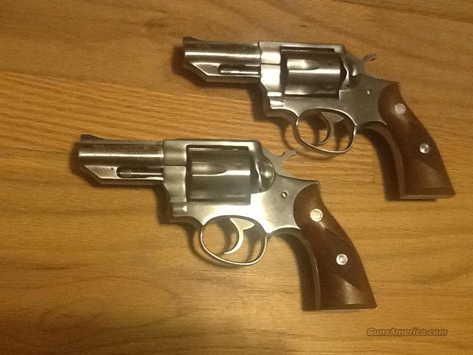 Ruger Police Service-Six set of 2 with consecutive serial #s .357 Magnum Like new  Guns > Pistols > Ruger Double Action Revolver > Security Six Type