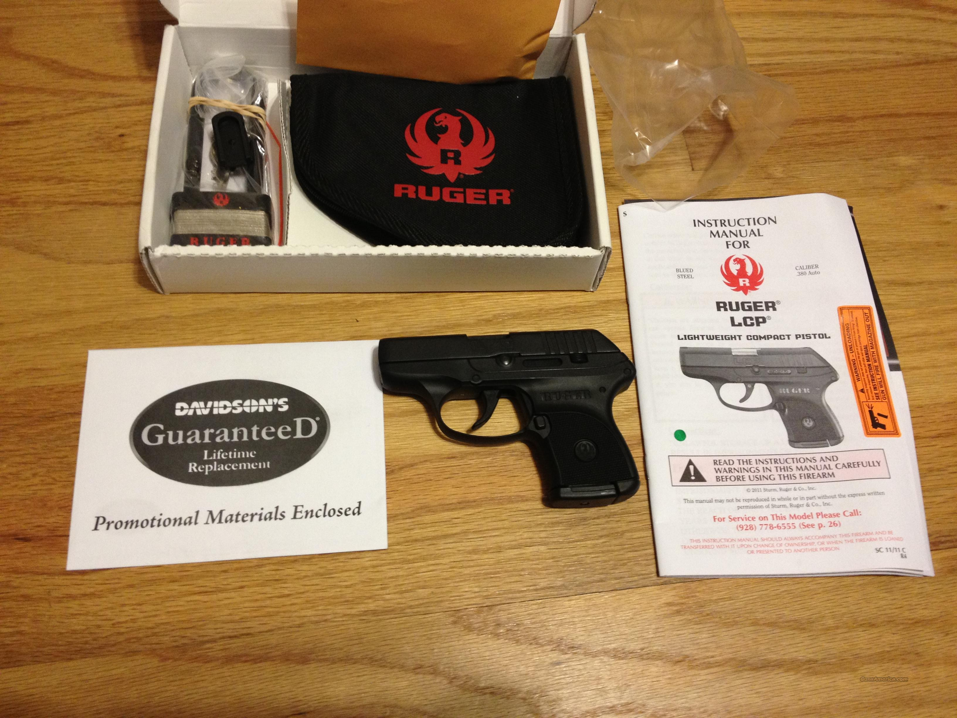 LCP by Ruger in .380 acp Brand New  Guns > Pistols > Ruger Semi-Auto Pistols > LCP