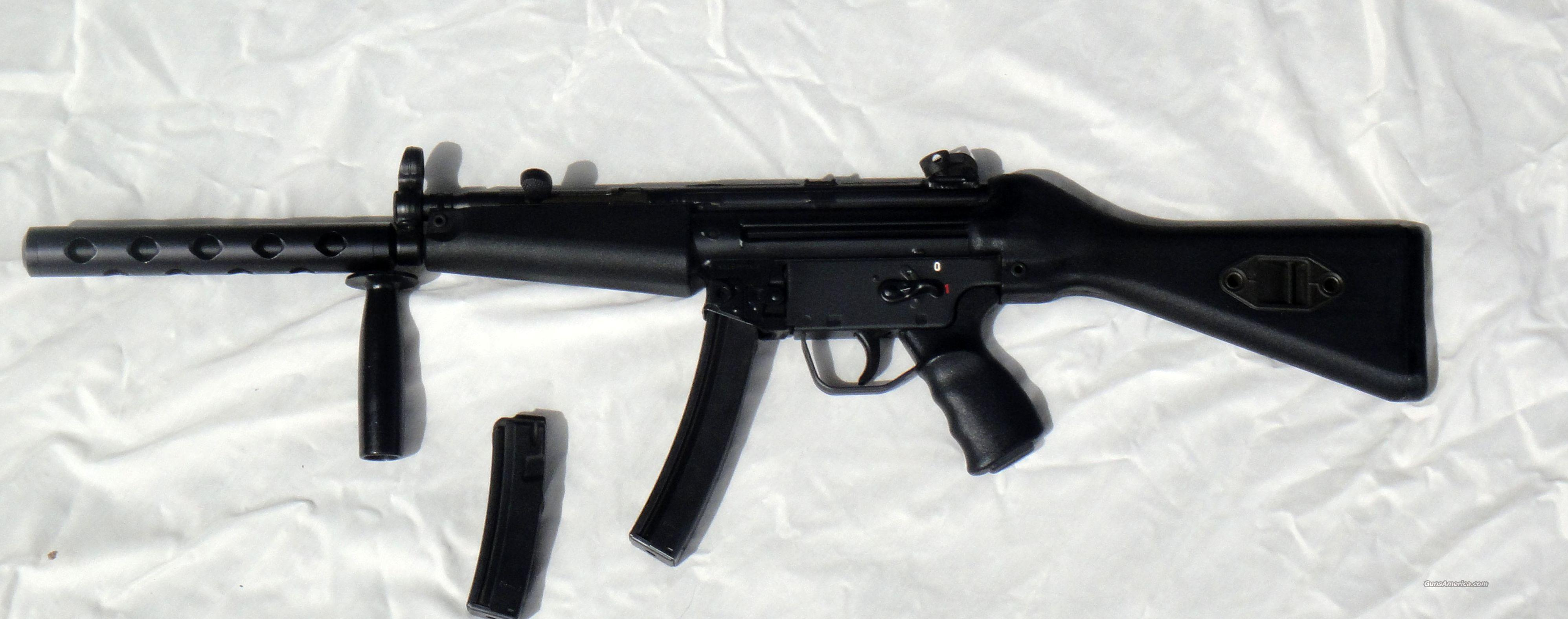Heckler & Koch Model 94, Semi-Auto version of the MP5 used by SWAT & Navy Seals  Guns > Rifles > Heckler & Koch Rifles > Tactical