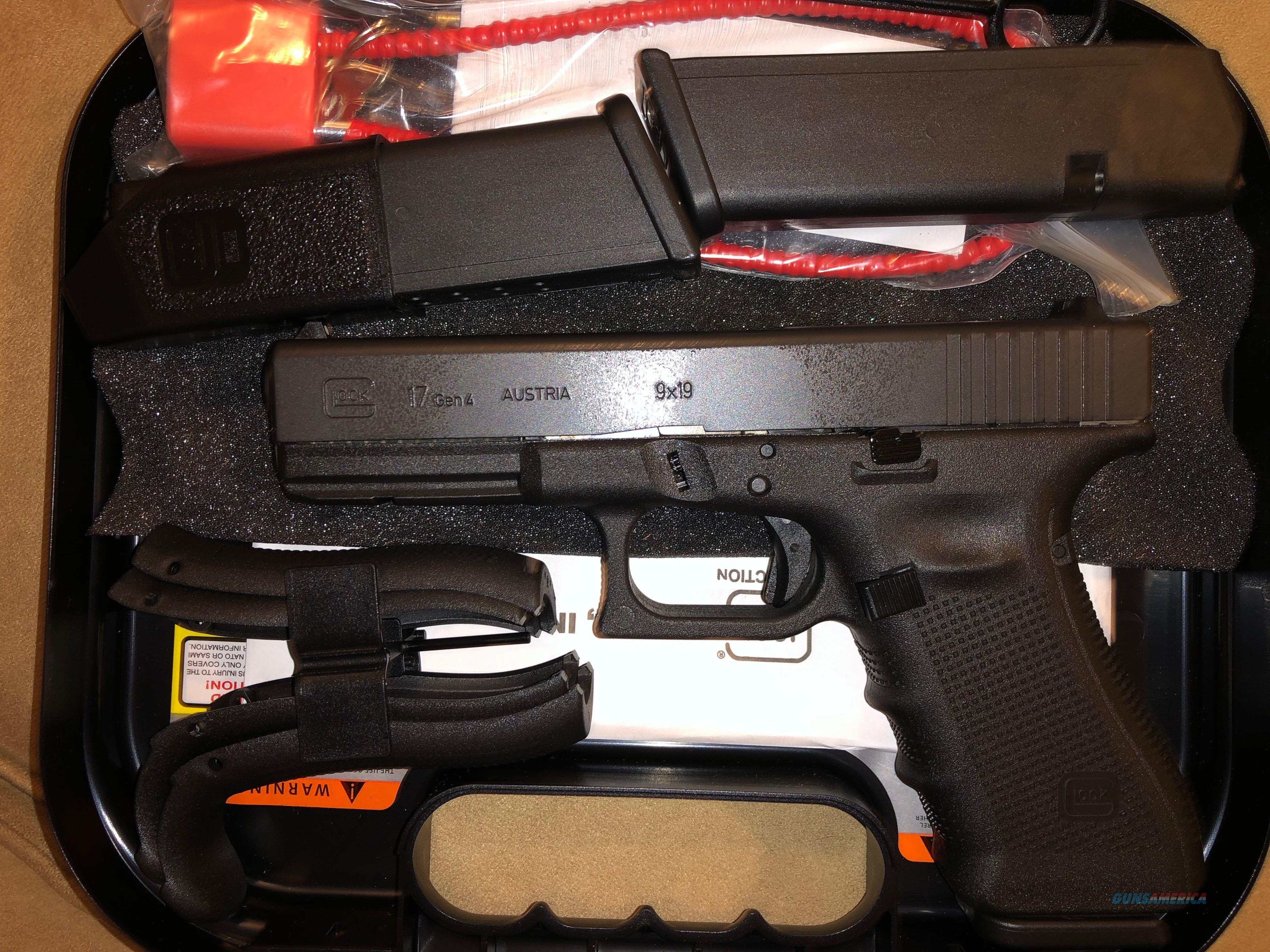 Glock 17. New Gen 4  Guns > Pistols > Glock Pistols > 17