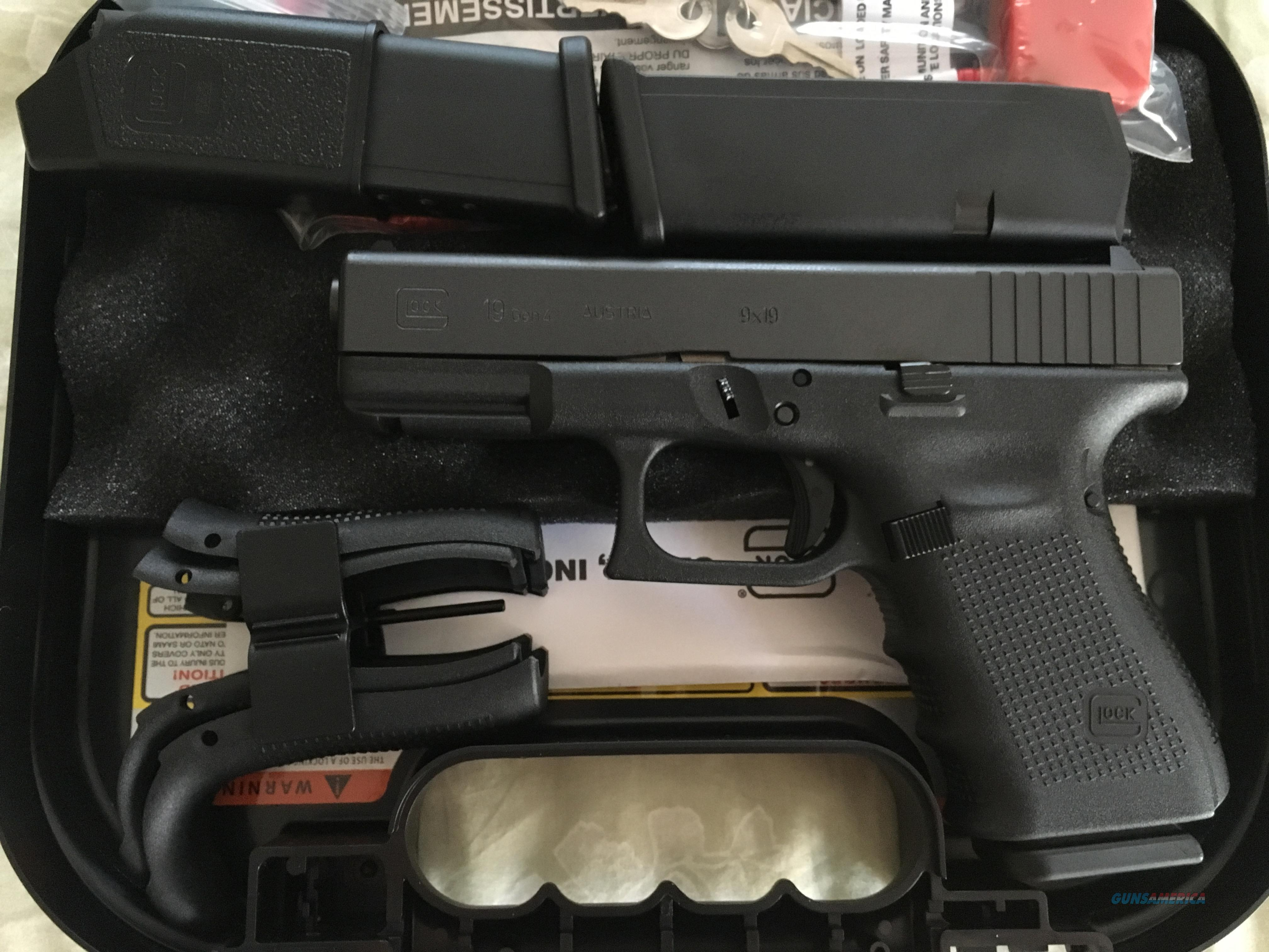 Glock 19. Gen 4. New in Box  Guns > Pistols > Glock Pistols > 19