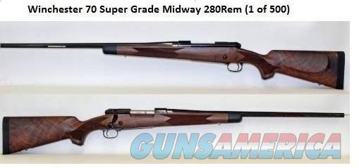 BRAND NEW IN BOX Winchester model 70 Super Grade .280 rem 1 of 500  Guns > Rifles > Winchester Rifles - Modern Bolt/Auto/Single > Model 70 > Post-64