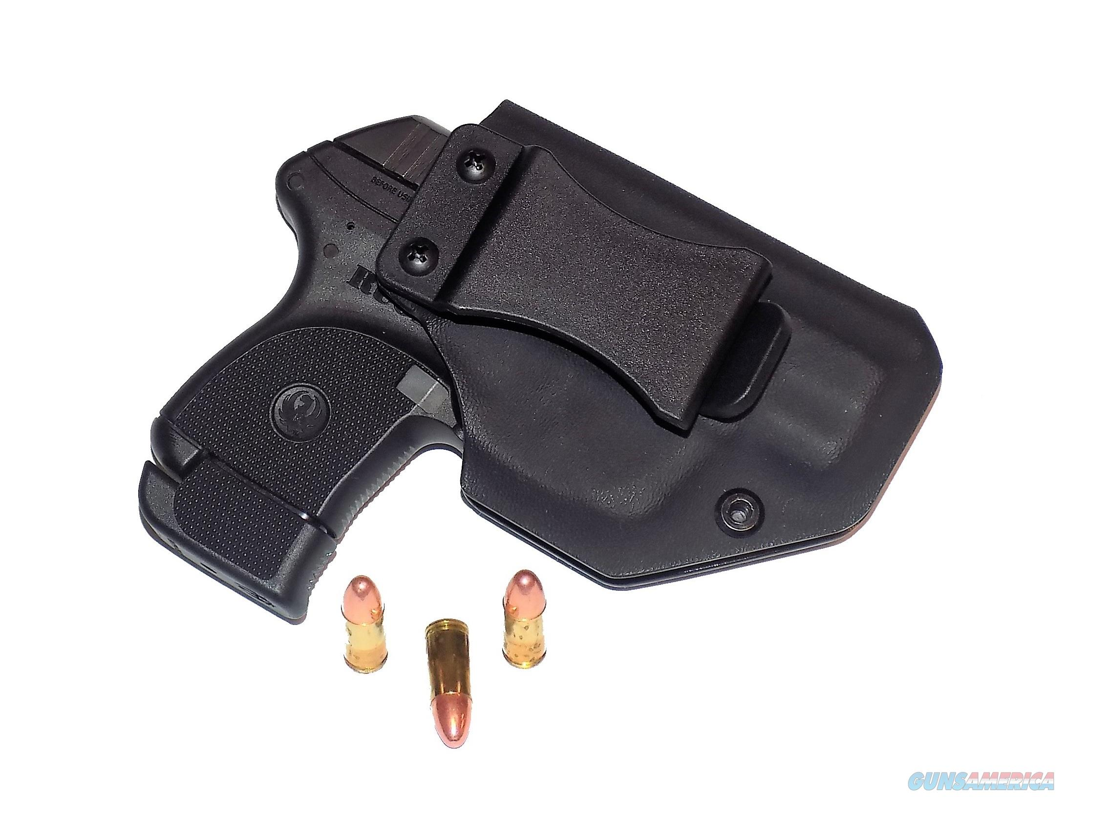 Aggressive Concealment LCPIIIWBLPBK-RH IWB Kydex Holster Ruger LCP II  Non-Guns > Holsters and Gunleather > Concealed Carry