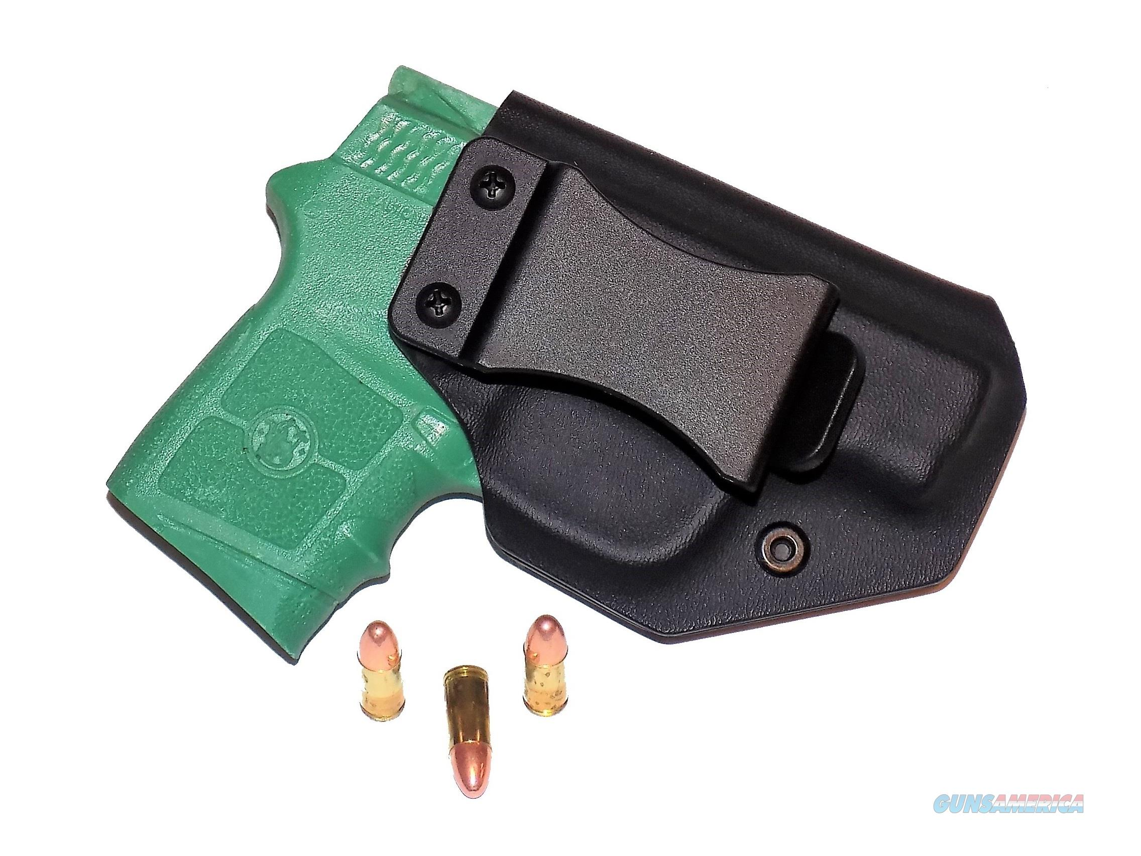 Aggressive Concealment BG380IWBLPBK-RH IWB Kydex Holster Smith & Wesson Bodyguard 380  Non-Guns > Holsters and Gunleather > Concealed Carry