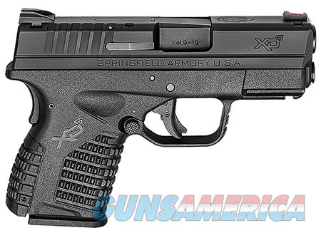 Springfield XDS9339BE Black XD-S Essential 9mm DAO 3.3 SHIPS FREE  Guns > Pistols > Springfield Armory Pistols > XD-S