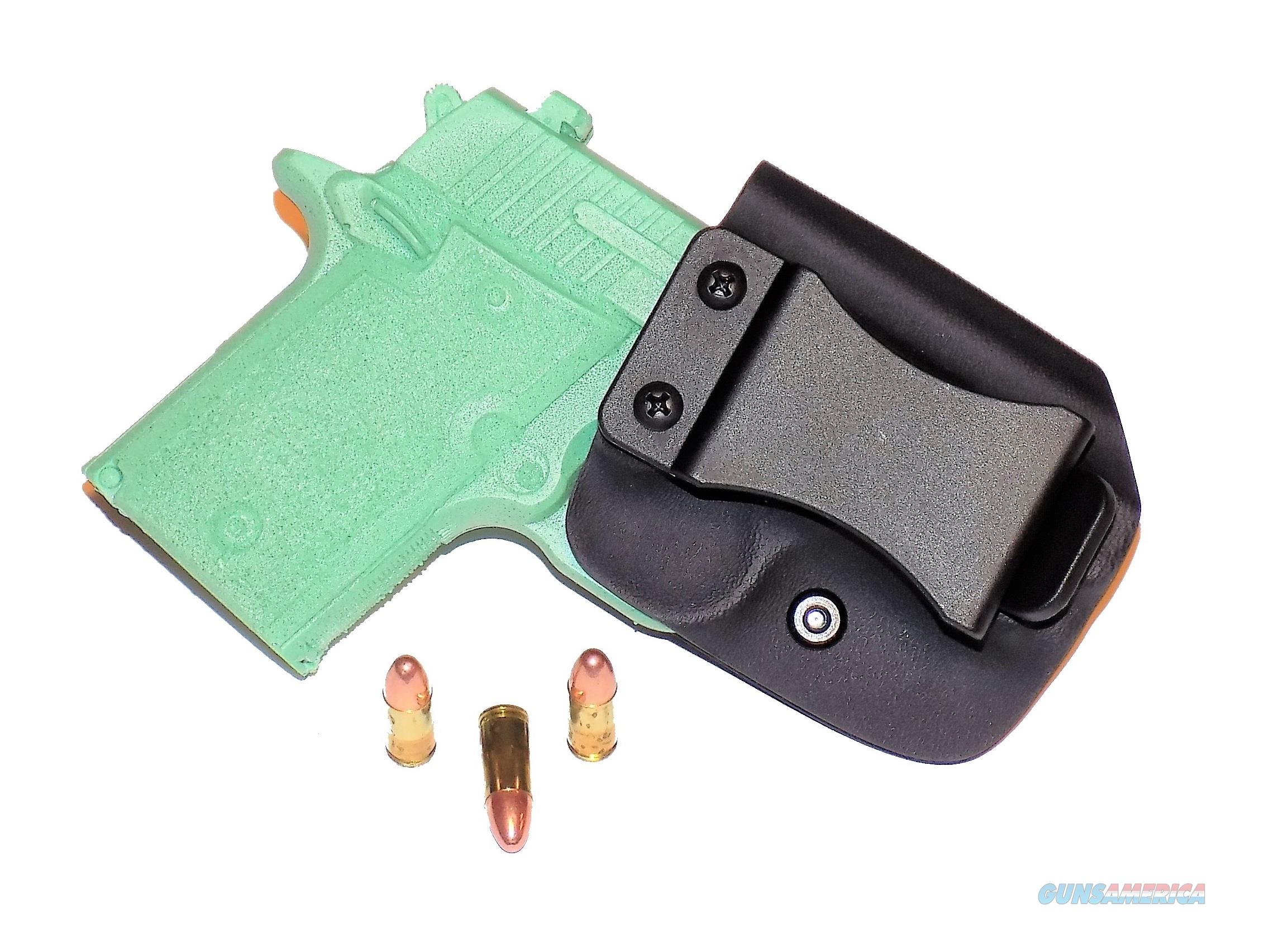 Aggressive Concealment P938IWBLPBK-RH IWB Kydex Holster Sig Sauer P938  Non-Guns > Holsters and Gunleather > Concealed Carry