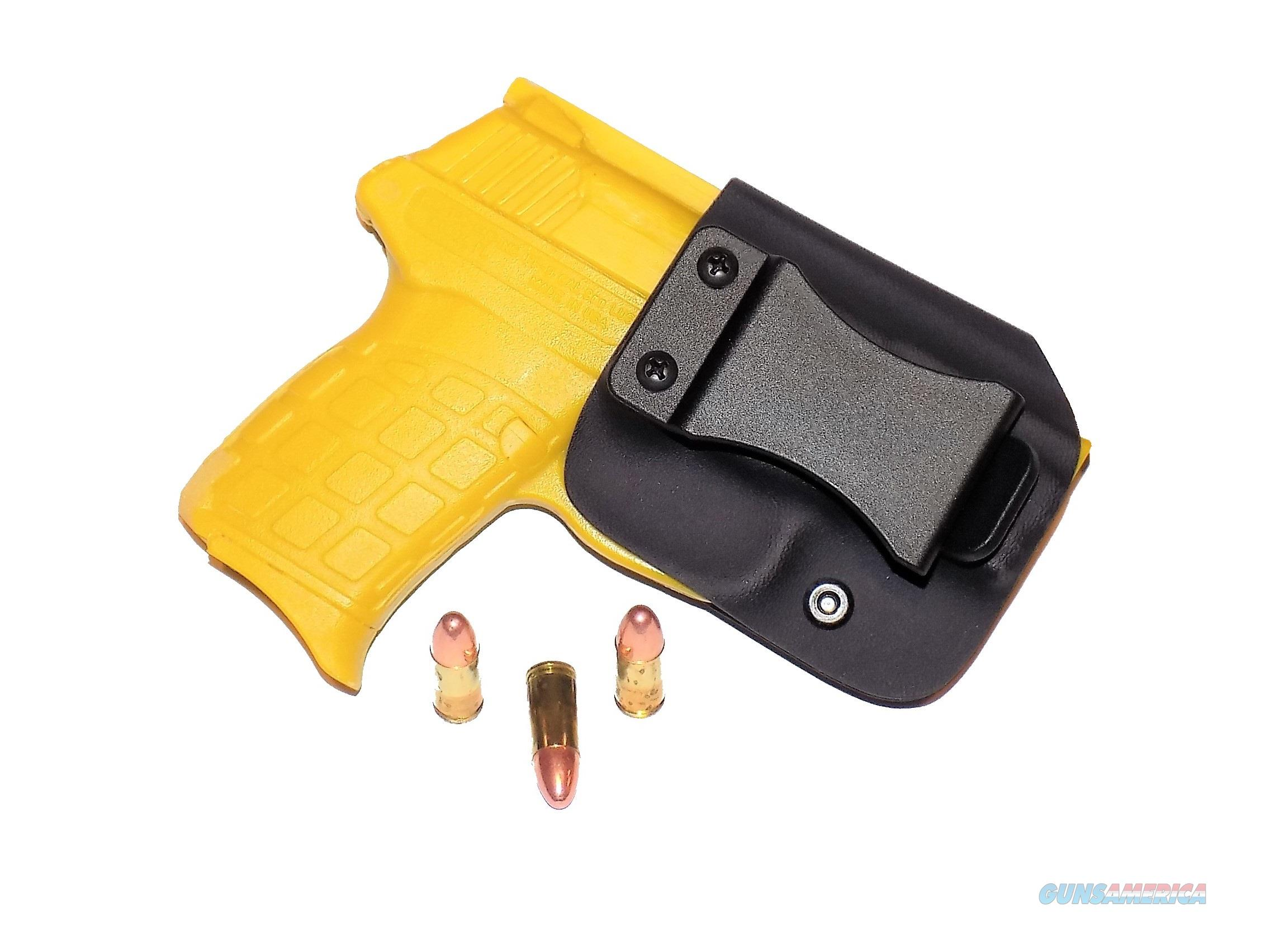 Aggressive Concealment PF9IWBLPBK-RH IWB Kydex Holster Kel-Tec PF9  Non-Guns > Holsters and Gunleather > Concealed Carry