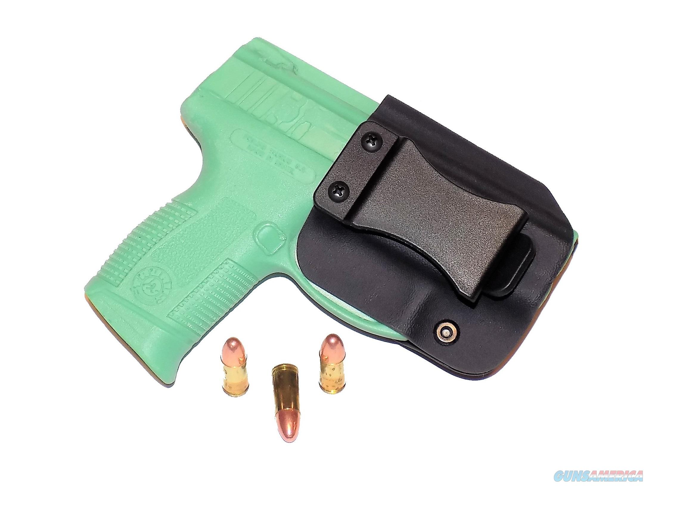 Aggressive Concealment PTPROIWBLPBK-RH IWB Kydex Holster for The Taurus PT 111/140 Pro  Non-Guns > Holsters and Gunleather > Concealed Carry