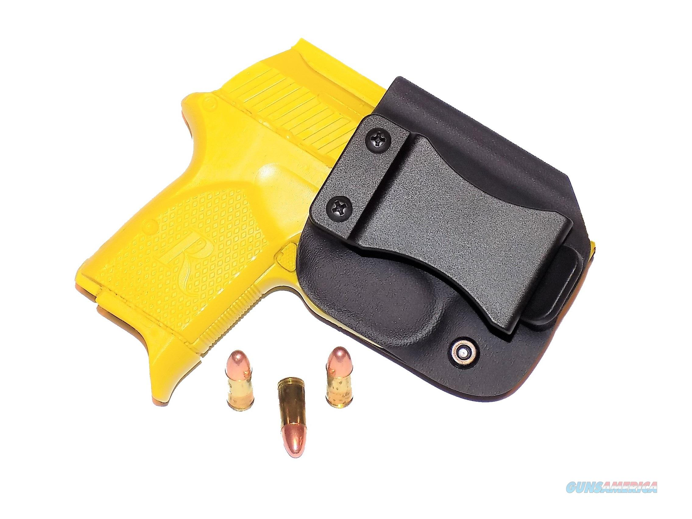 Aggressive Concealment RM380IWBLPBK-RH IWB Kydex Holster Remington RM380  Non-Guns > Holsters and Gunleather > Concealed Carry