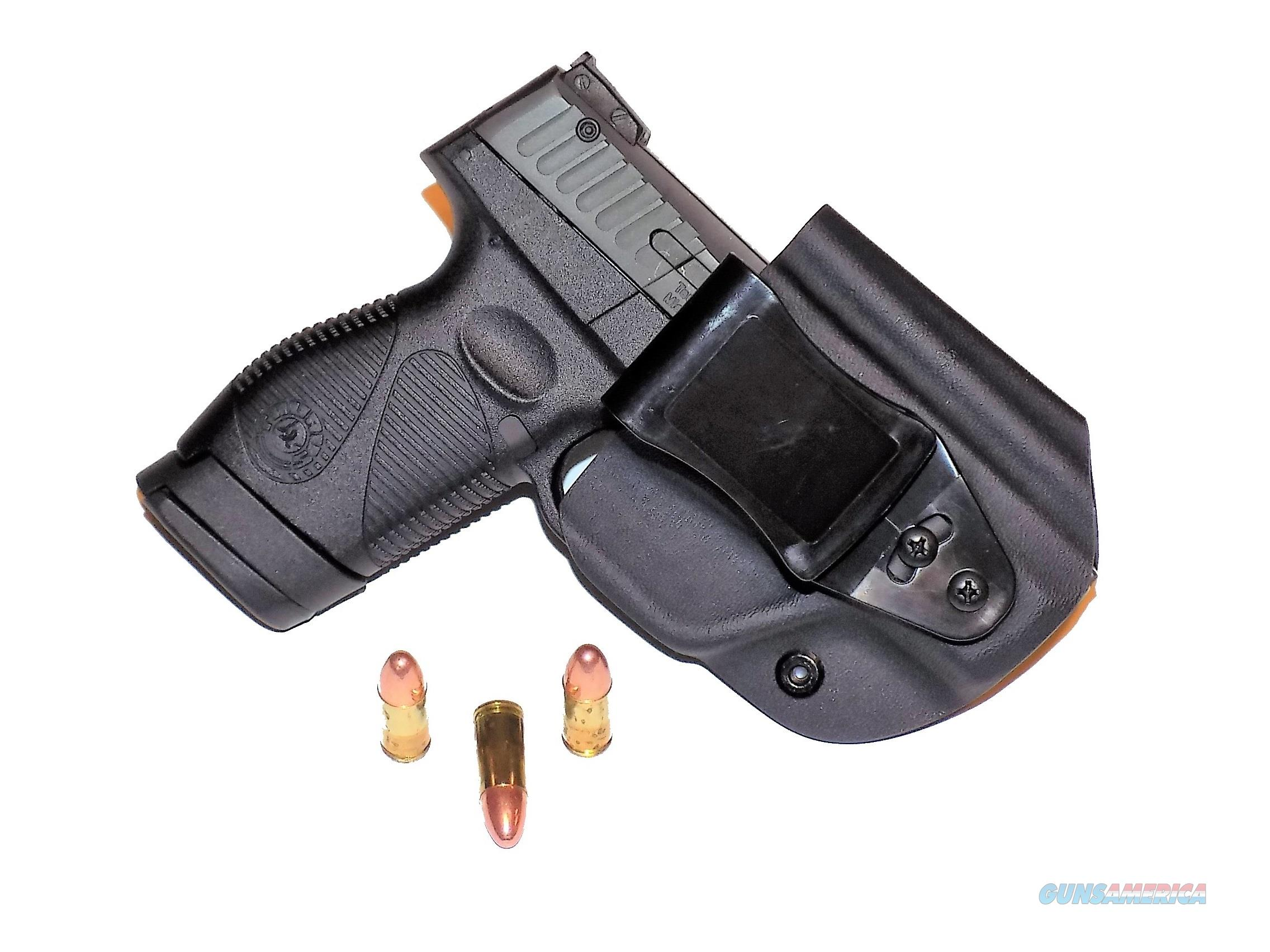 Aggressive Concealment PTIWBLPTBK-RH Tuckable IWB Kydex Holster for The Taurus PT709 slim   Non-Guns > Holsters and Gunleather > Concealed Carry