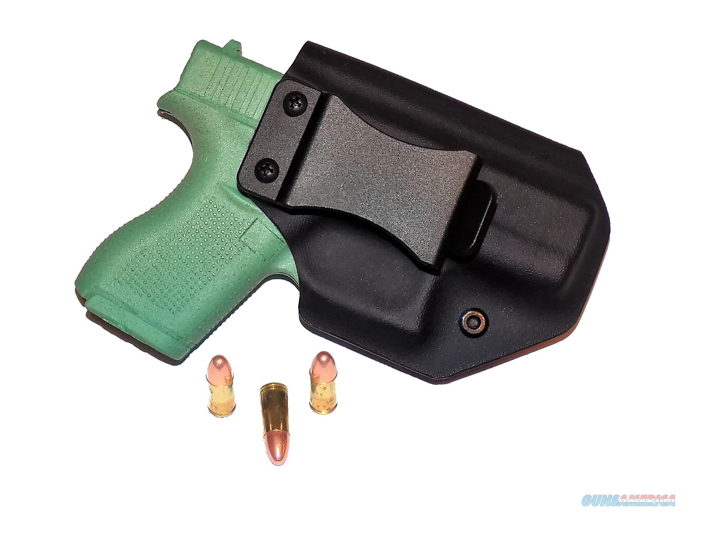 Aggressive Concealment G42IWBLPBK-RH IWB Kydex Holster Glock 42  Non-Guns > Holsters and Gunleather > Concealed Carry