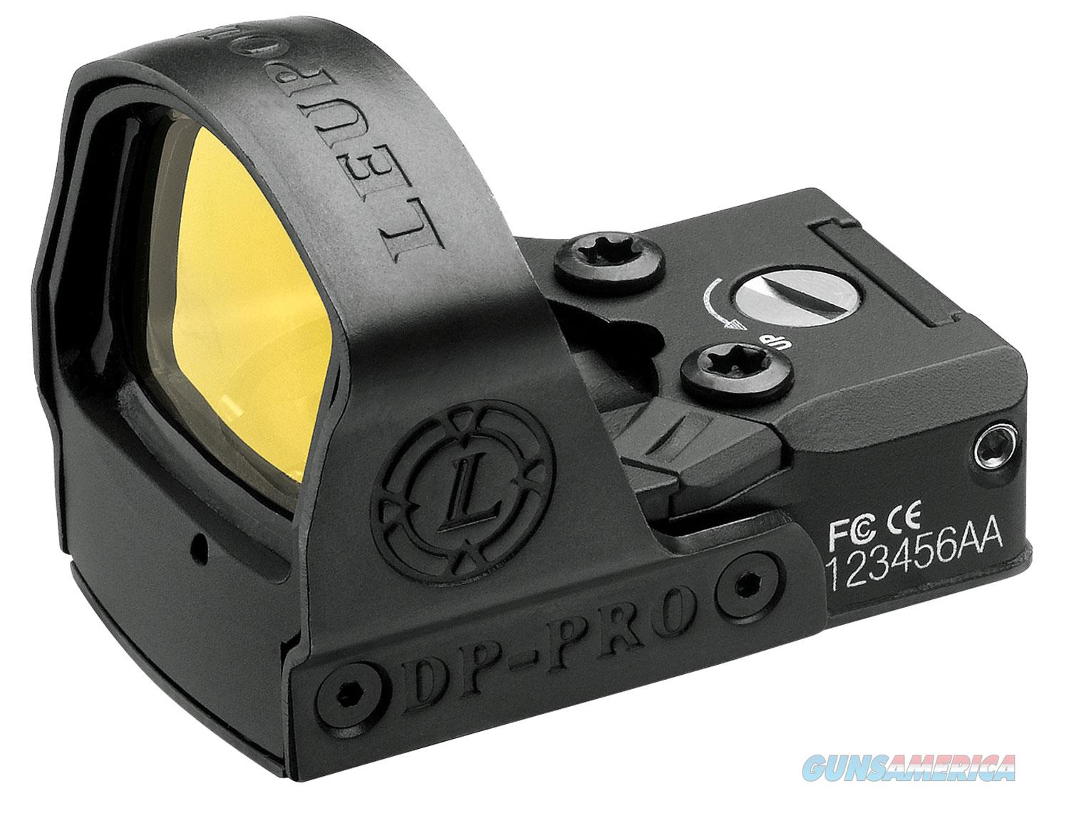 Leupold 119688 DeltaPoint Pro 1x Objective Unlimited Eye Relief 2.5 MOA Black  Non-Guns > Scopes/Mounts/Rings & Optics > Tactical Scopes > Red Dot