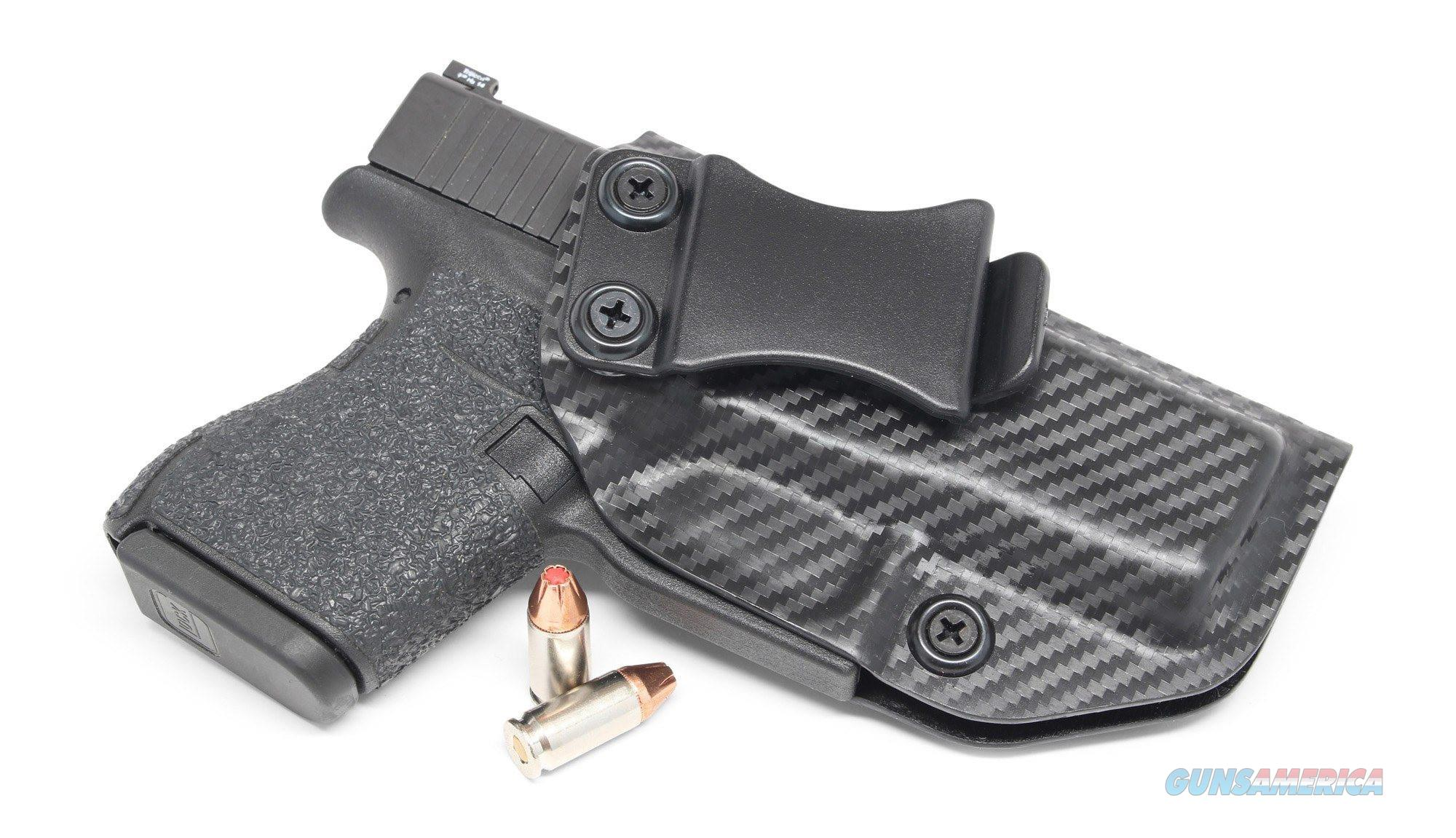 Concealment Express G43 IWB kydex holster Glock 43 Carbon Fiber Holster  Non-Guns > Holsters and Gunleather > Concealed Carry