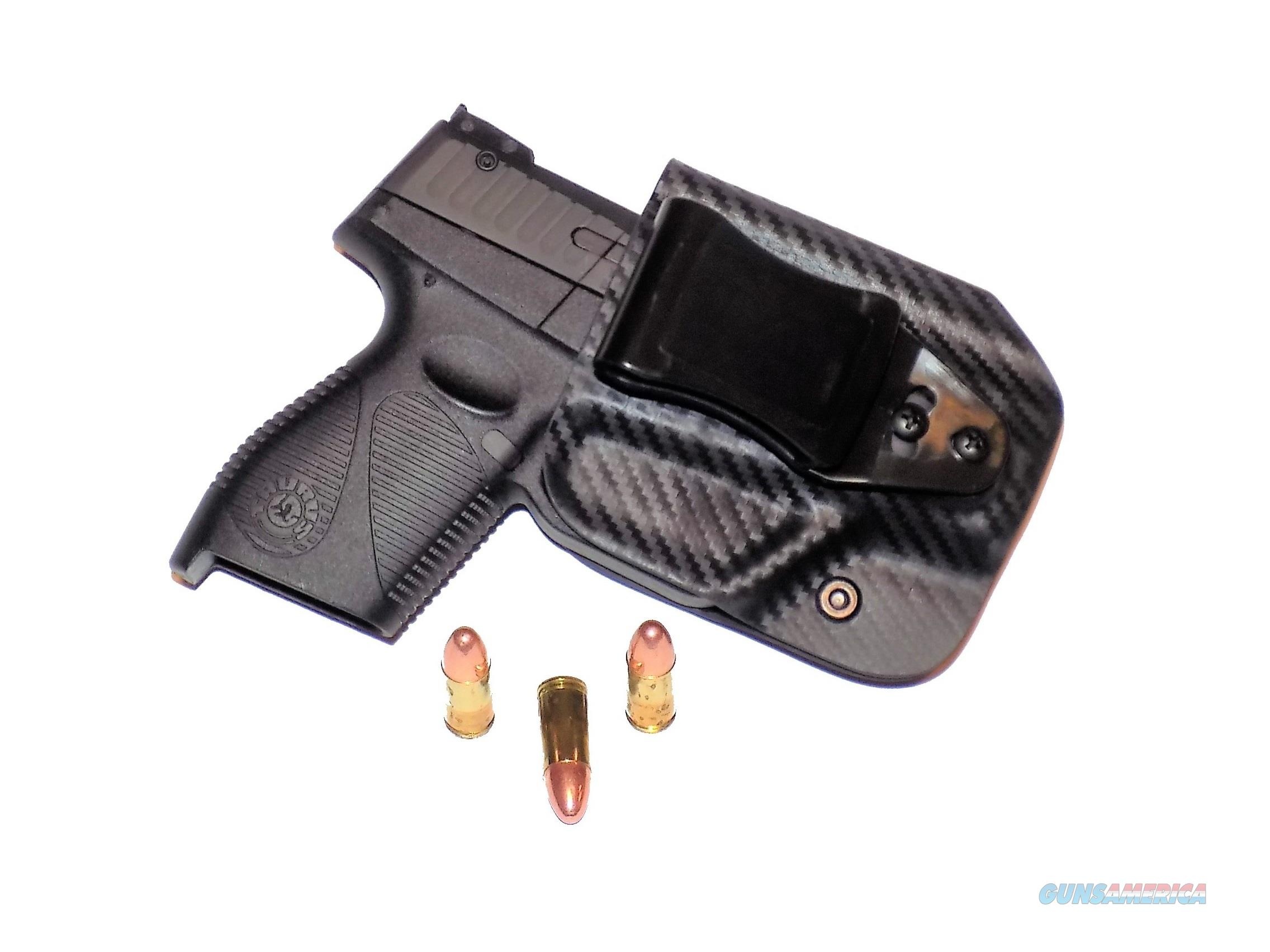 Aggressive Concealment PTIWBLPTCF-RH Tuckable IWB Kydex Holster for The Taurus PT709/PT740 slim  Non-Guns > Holsters and Gunleather > Concealed Carry