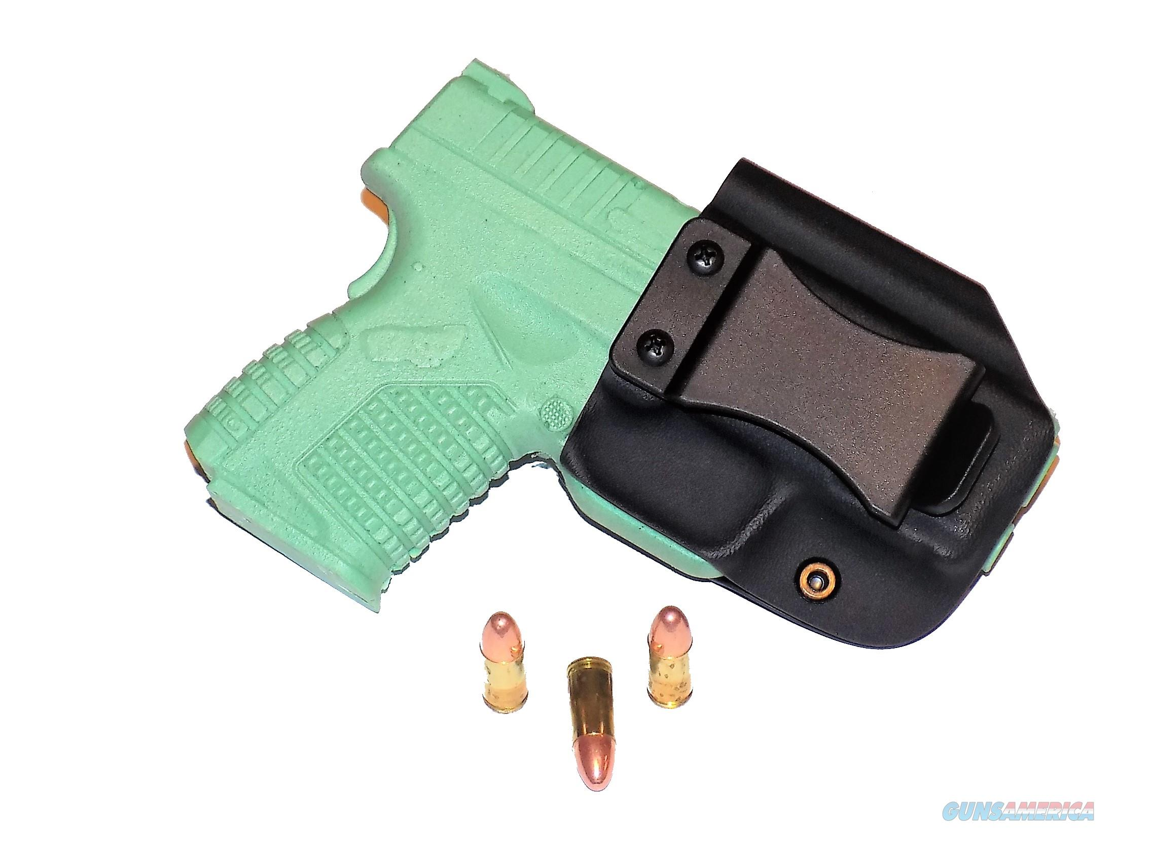 Aggressive Concealment XDSIWBLPBK-RH IWB Kydex Holster Springfield XDS 3.3 9/45  Non-Guns > Holsters and Gunleather > Concealed Carry