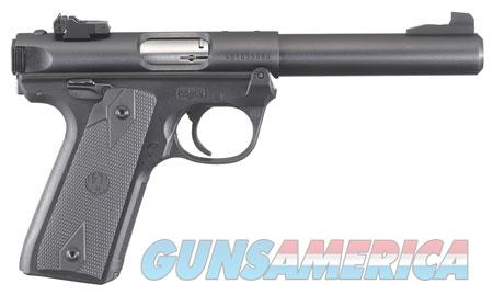 "Ruger 40107 Mark IV 22 Long Rifle 5.5"" 10+1 Black Synthetic Grip  Guns > Pistols > Ruger Semi-Auto Pistols > 22/45"