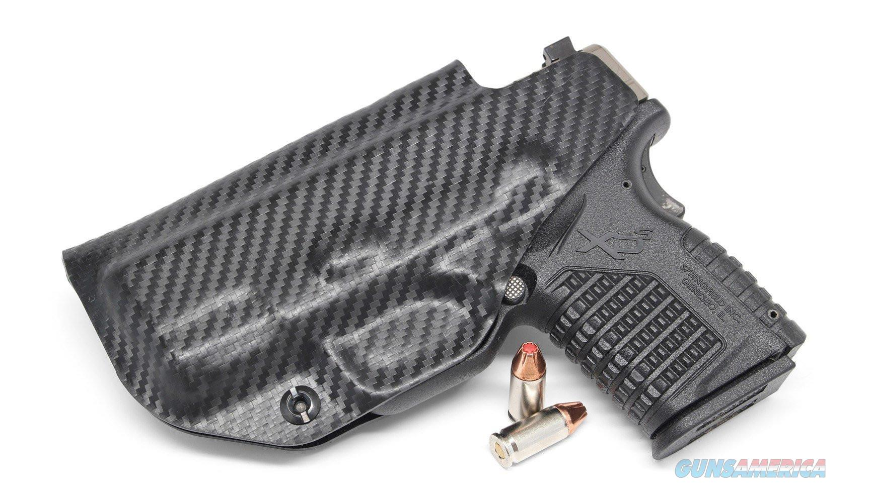 "Concealment Express XDSCF IWB kydex holster Springfield XDS 9MM/40SW/45ACP 3""  Non-Guns > Holsters and Gunleather > Concealed Carry"