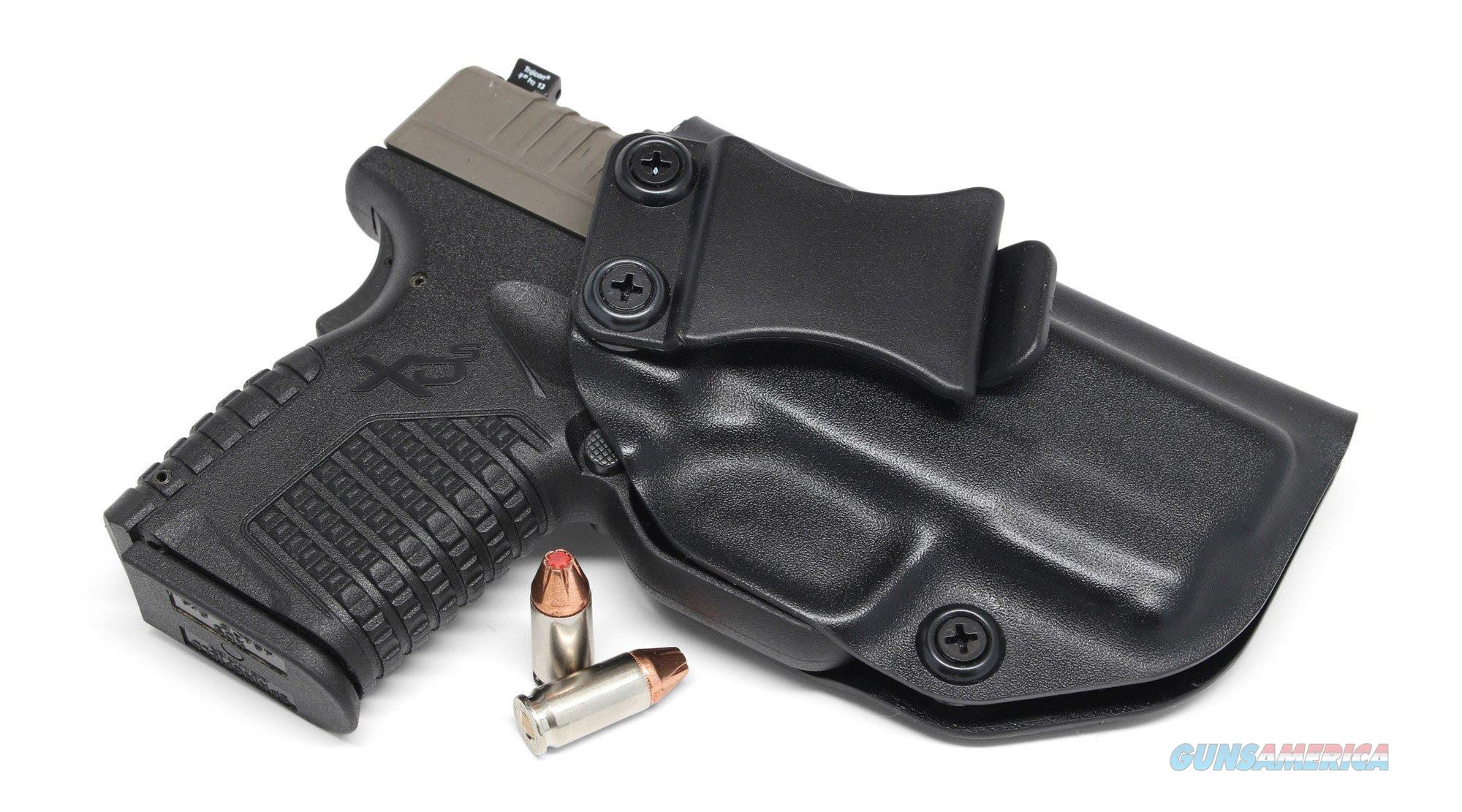"Concealment Express XDS IWB kydex holster for Springfield XDS 9MM/40SW/45ACP 3""  Non-Guns > Holsters and Gunleather > Concealed Carry"