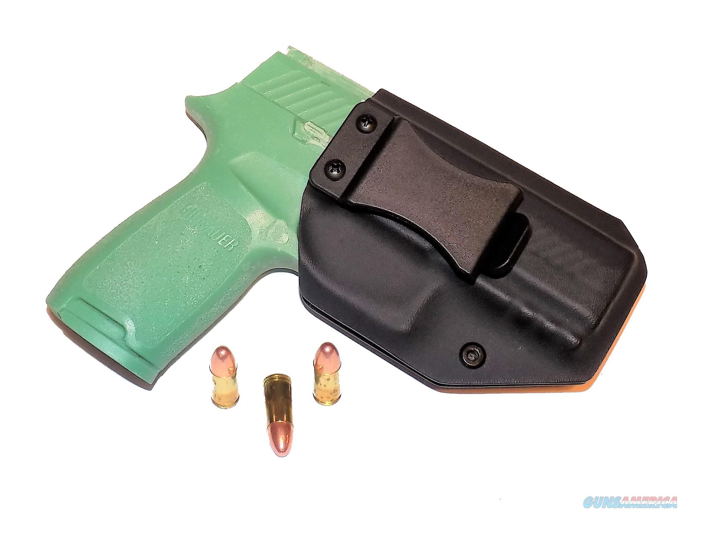 Aggressive Concealment P320CIWBLPBK-RH IWB Kydex Holster Sig Sauer P320 Compact  Non-Guns > Holsters and Gunleather > Concealed Carry