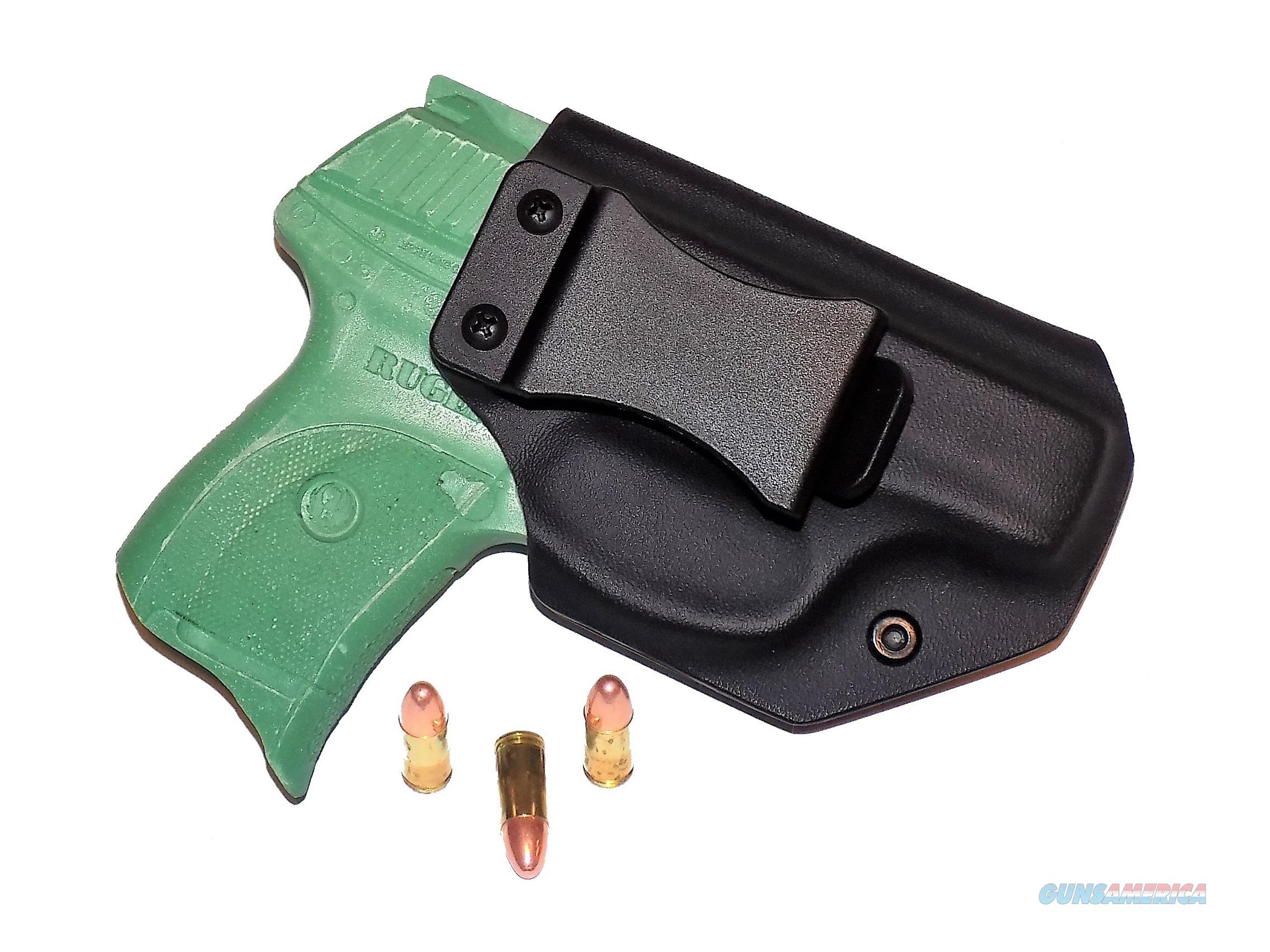 Aggressive Concealment LC9IWBLPBK-RH IWB Kydex Holster Ruger LC9  Non-Guns > Holsters and Gunleather > Concealed Carry