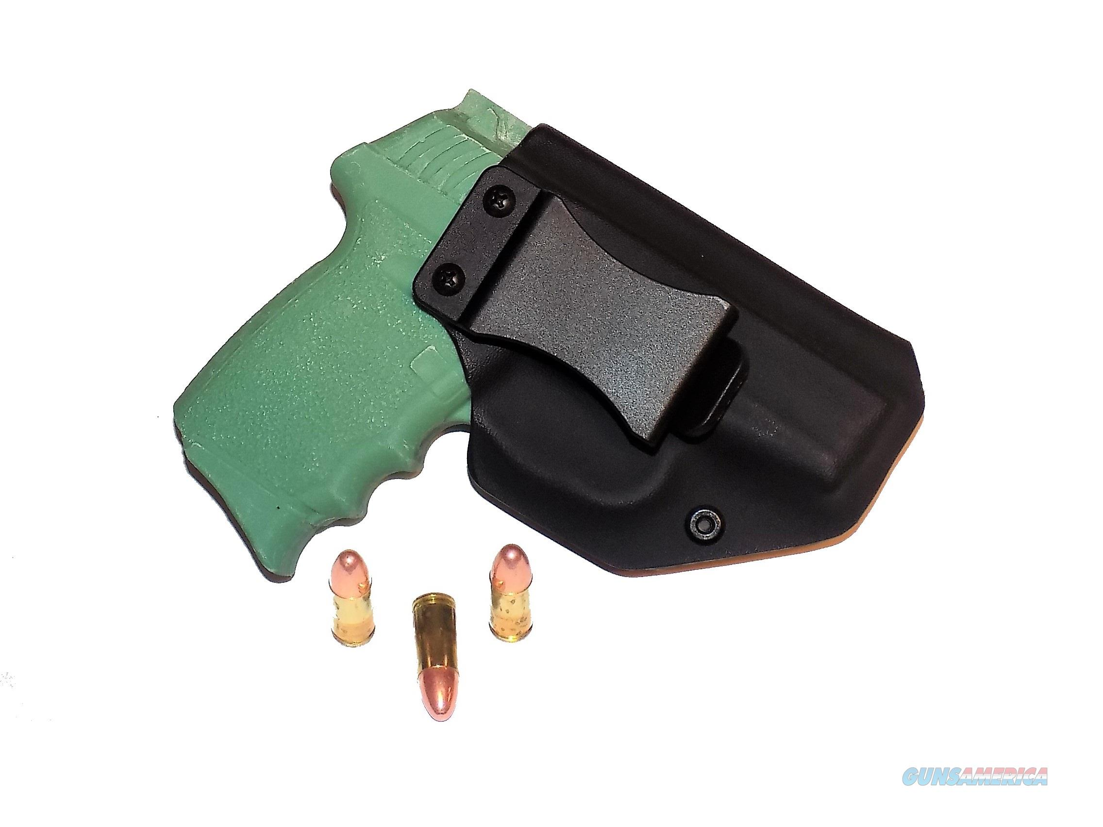 Aggressive Concealment CPX2IWBLPBK-RH IWB Kydex Holster SCCY CPX-2  Non-Guns > Holsters and Gunleather > Concealed Carry