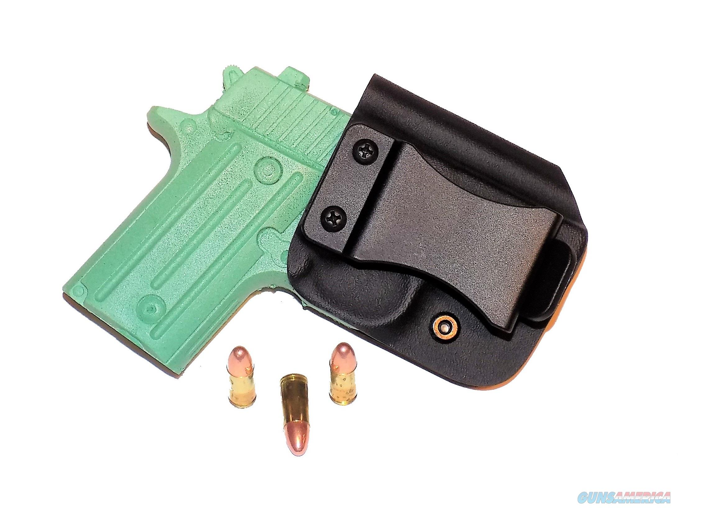 Aggressive Concealment P238IWBLPBK-RH IWB Kydex Holster Sig Sauer P238  Non-Guns > Holsters and Gunleather > Concealed Carry