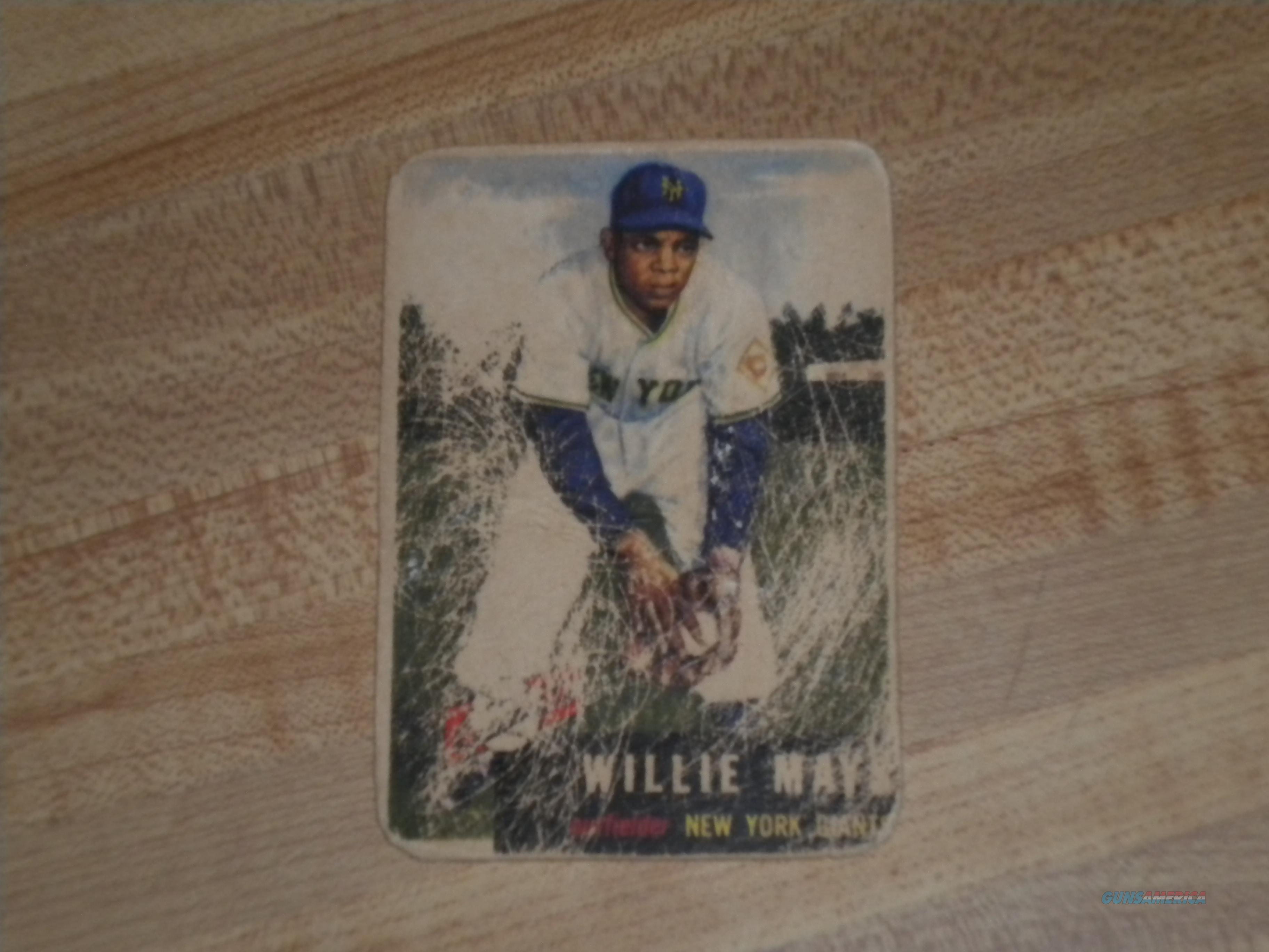 Topps 1953 Willie Mays #244 Old Vintage Baseball Card.  Non-Guns > Hobbies and Collectibles > Action Figures > Other/Misc