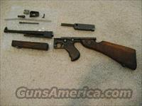 Thompson m1 submachine gun kit  Non-Guns > Gun Parts > Antique & Collector Parts > WWII > America