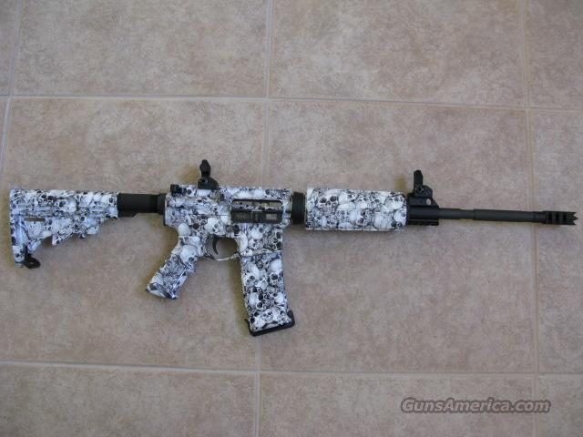 CSC ARMS,LLC 5.56 AR15/Hydrographics skulls  Guns > Rifles > AR-15 Rifles - Small Manufacturers > Complete Rifle