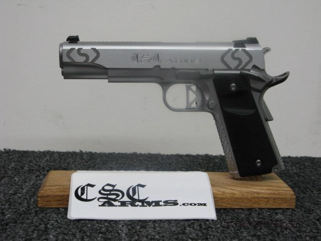 CSC ARMS 1911 STAINLESS .45ACP Hand Fitted.  Guns > Pistols > 1911 Pistol Copies (non-Colt)