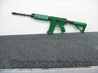 "CSC ARMS,LLC 5.56 AR15/Hydrographics ""Zombie Green""         AR-15 Rifles - Small Manufacturers > Complete Rifle"