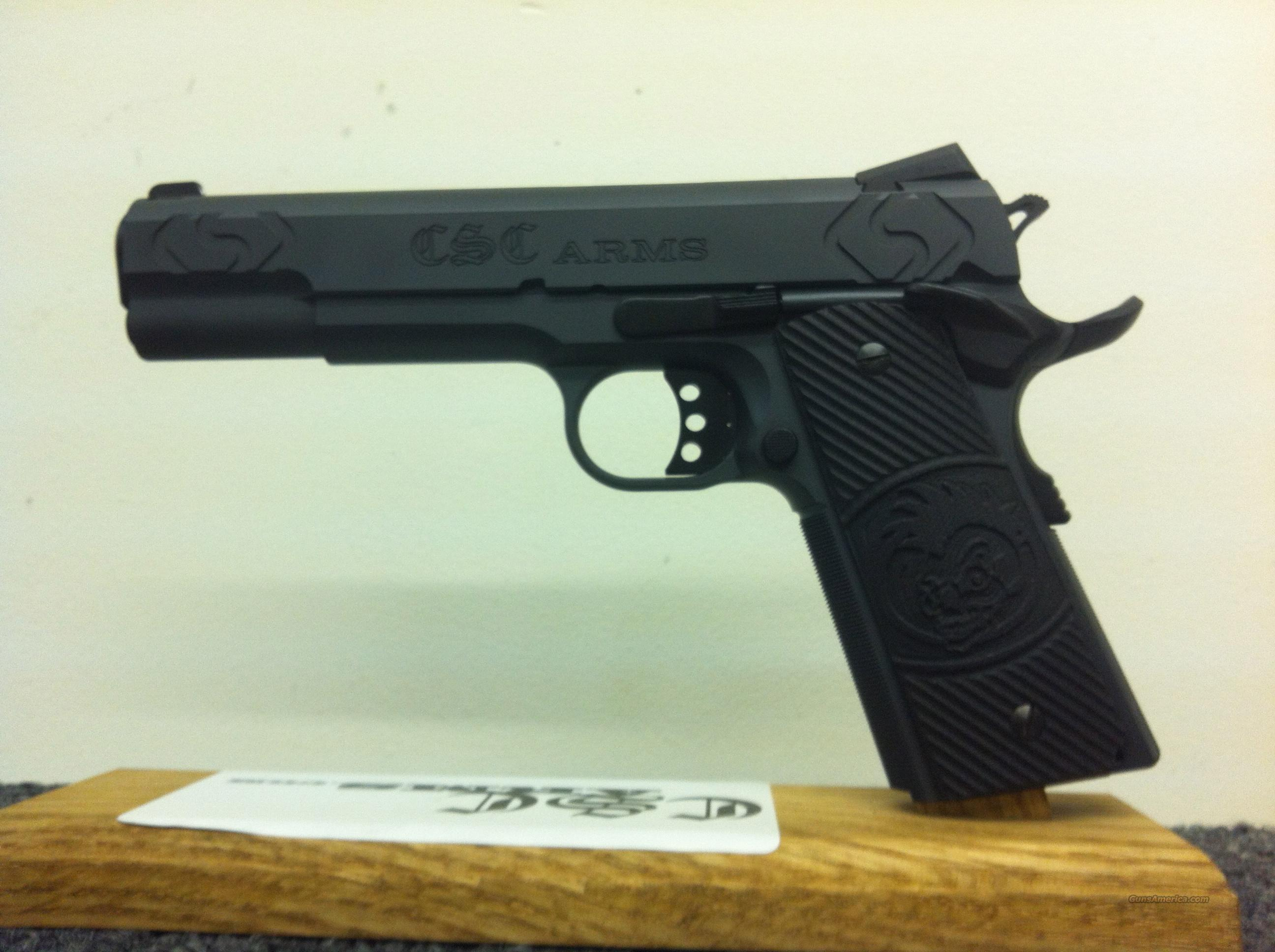 CSC ARMS 1911 .45ACP Custom Hand Fitted.  Guns > Pistols > 1911 Pistol Copies (non-Colt)