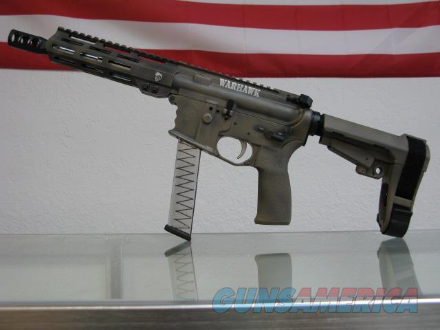 "CSC ARMS ""WarHAWK"" 9mm AR-Pistol LRBHO GlockMags  Guns > Pistols > Tactical Pistols Misc."
