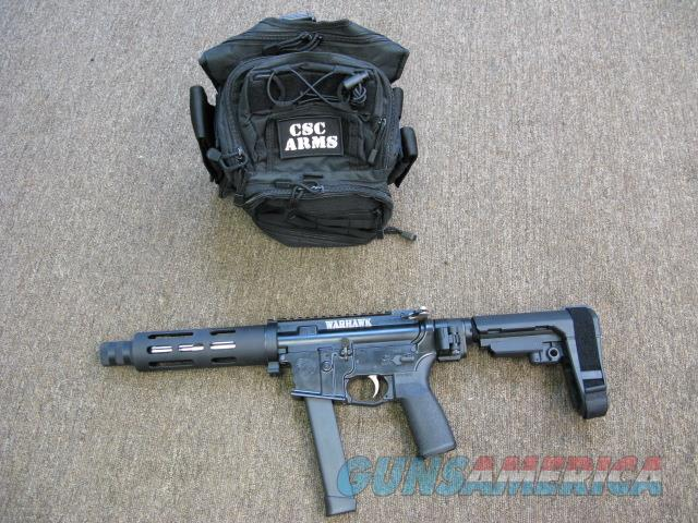 "CSC ARMS ""WarHAWK"" TAKEDOWN AR Pistol 9mm  Guns > Rifles > AR-15 Rifles - Small Manufacturers > Complete Rifle"
