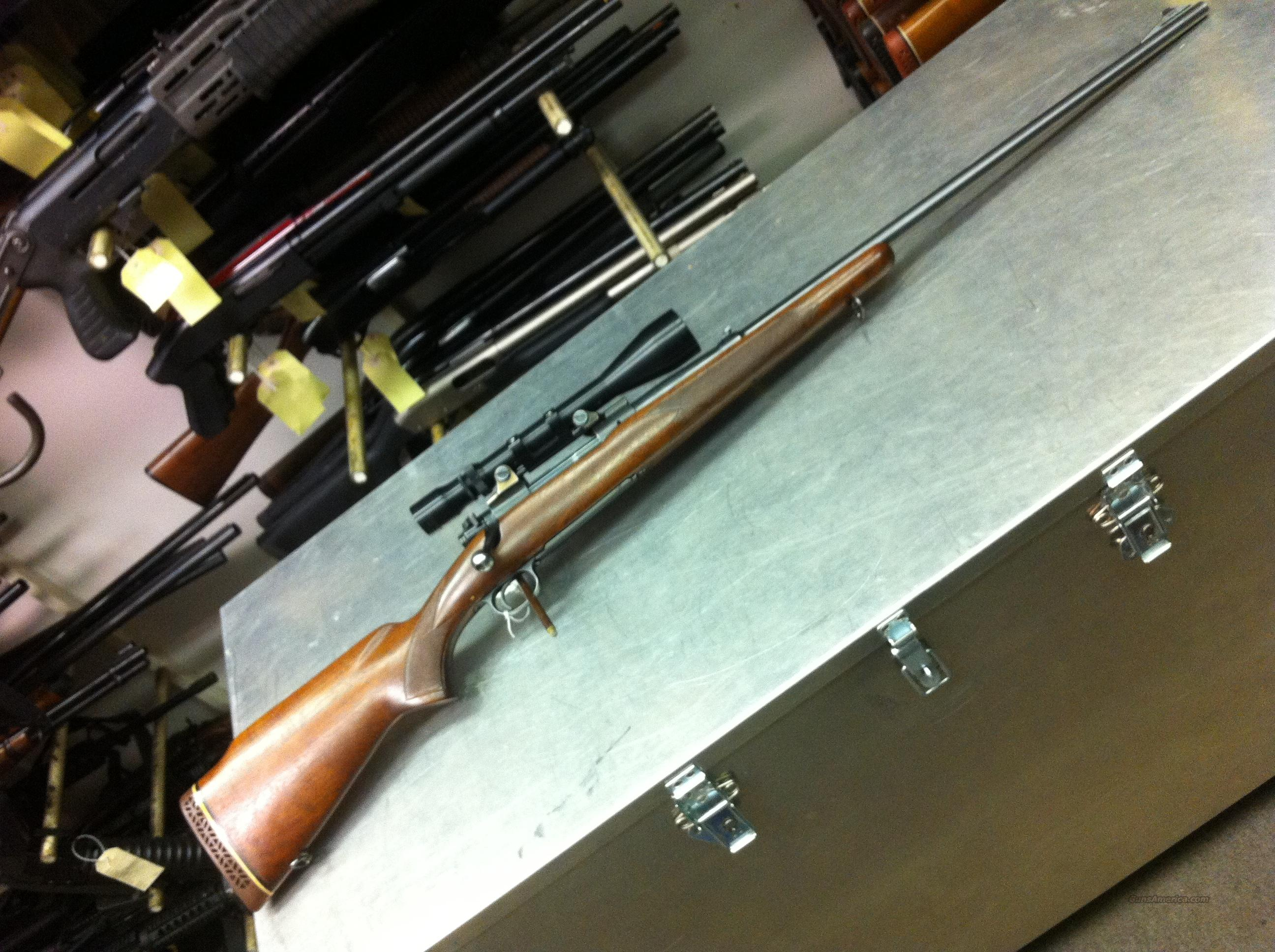 Winchester Model 70 Pre-64 .264 Win Mag  Guns > Rifles > Winchester Rifles - Modern Bolt/Auto/Single > Model 70 > Pre-64