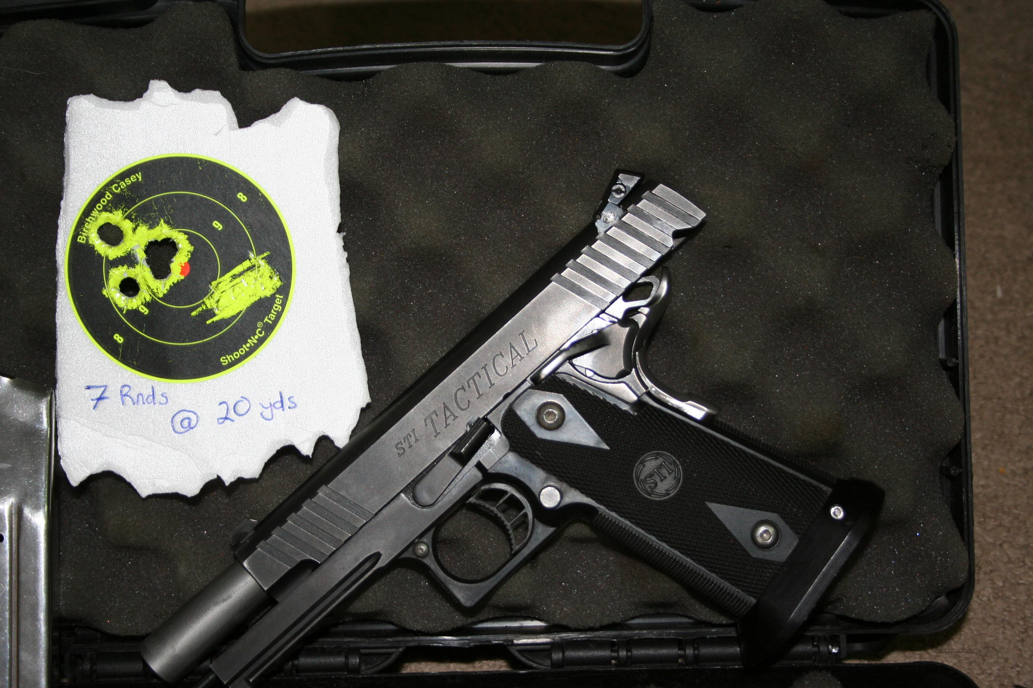 STI Tactical 5.0 .45 ACP  Guns > Pistols > STI Pistols