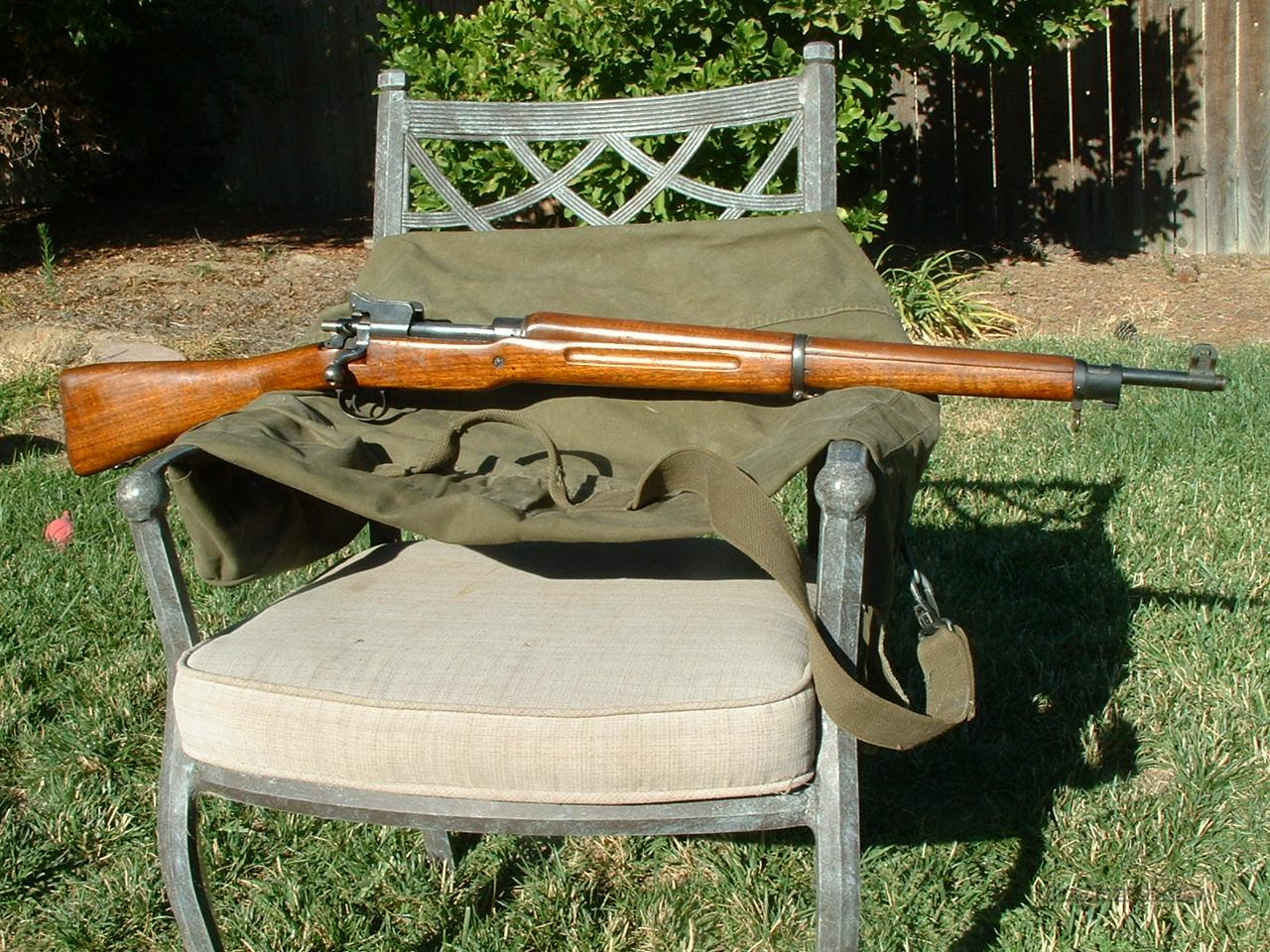 Winchester U.S. Model 1917  Guns > Rifles > Military Misc. Rifles US > Model 1917 Variants