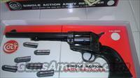 1970 colt 45 s.a. Army revolver 7.5 barrel with original stage coach box never fired  Colt Single Action Revolvers - 2nd Gen.