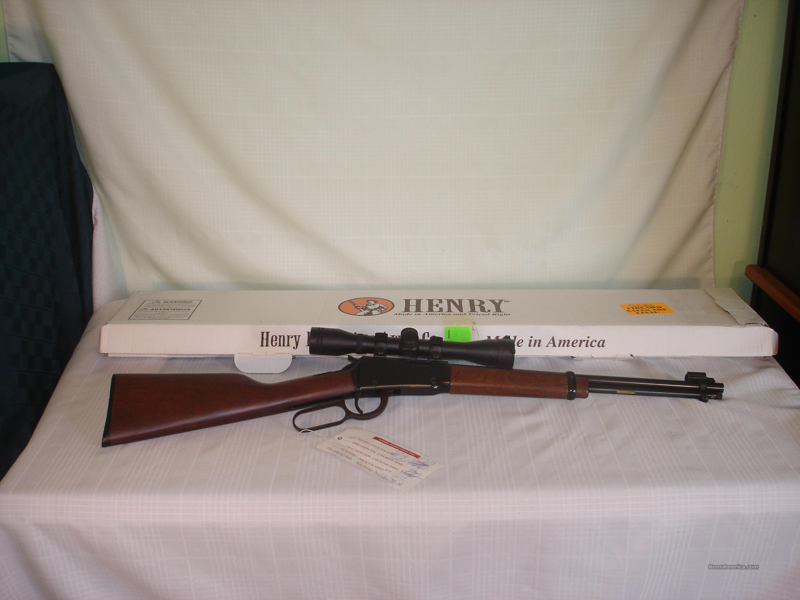 Henry Lever Action Youth .22LR and Scope  Guns > Rifles > Henry Rifle Company