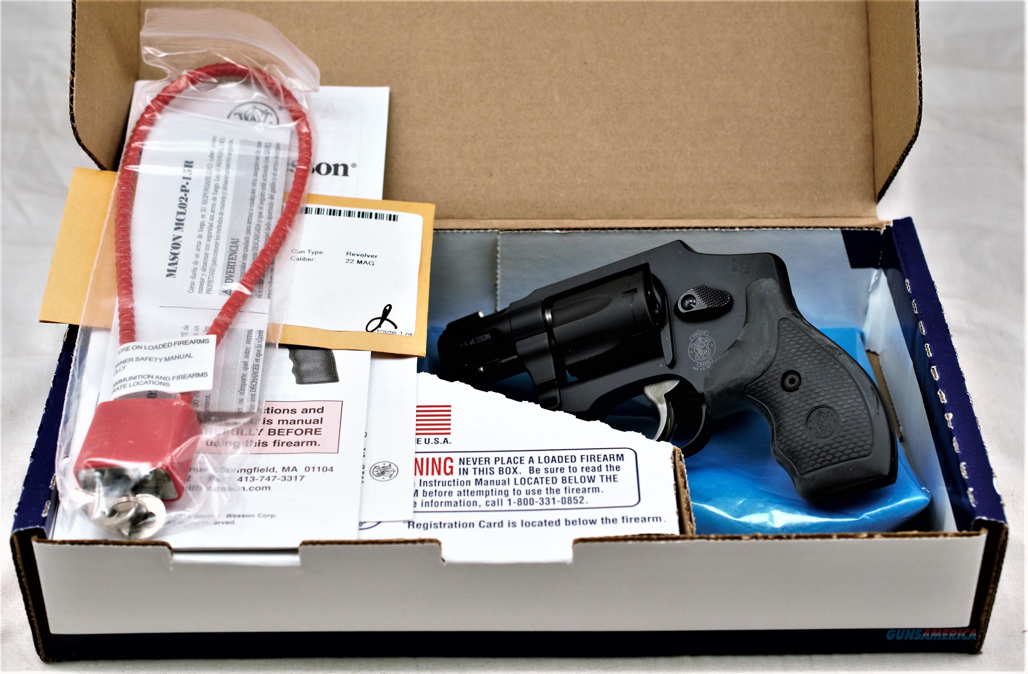 S & W 351 C 22 WMR Airlite   Guns > Pistols > Smith & Wesson Revolvers > Small Frame ( J )
