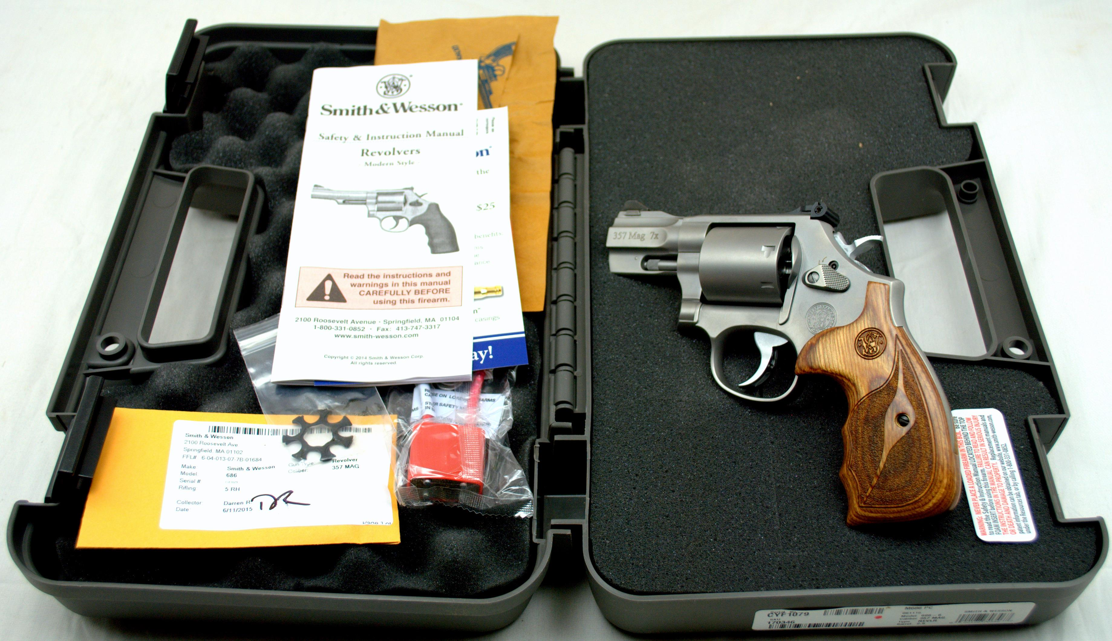 SMITH & WESSON MODEL PC 686 357MAGNUM  Guns > Pistols > Smith & Wesson Revolvers > Performance Center