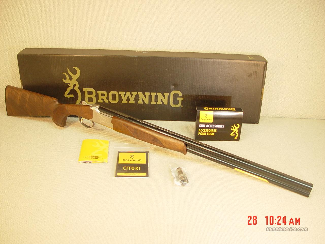 "BROWNING CITORI 525 FEATHERWEIGHT 20GA 28""  Guns > Shotguns > Browning Shotguns > Over Unders > Citori > Hunting"