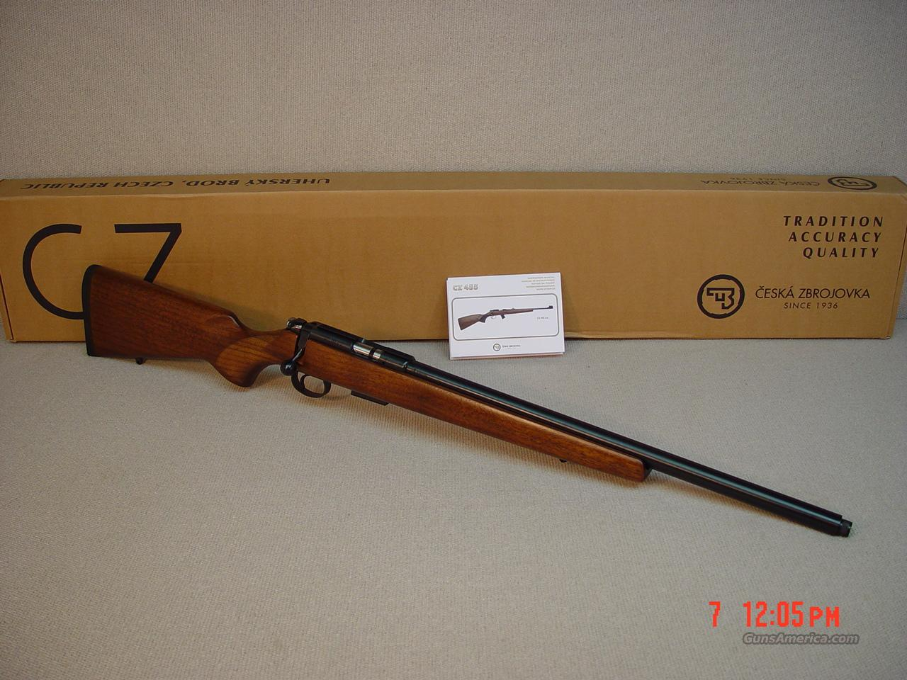 CZ 455 17 HMR VARMINT Threaded  Guns > Rifles > CZ Rifles