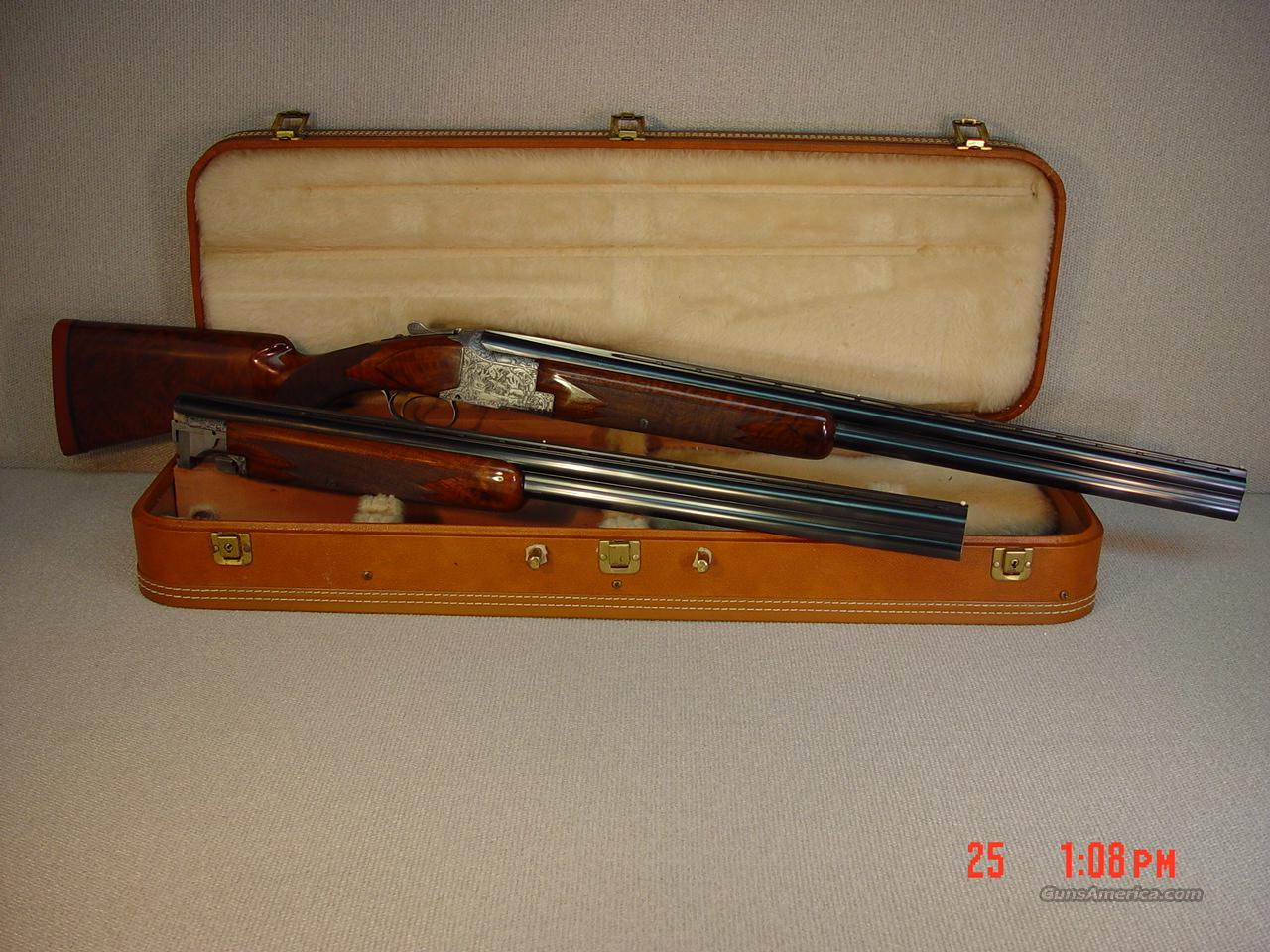 BROWNING B25 DIANA GRADE, TWO BARREL SET  Guns > Shotguns > Browning Shotguns > Over Unders > Belgian Manufacture