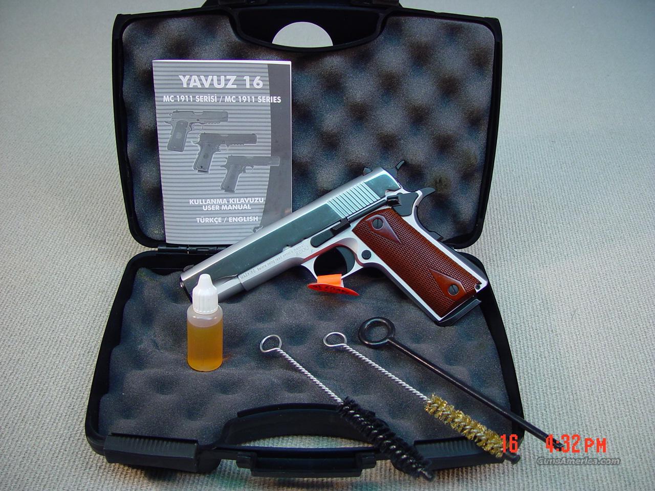 GIRSAN MC 1911 White G2 45ACP   Guns > Pistols > 1911 Pistol Copies (non-Colt)