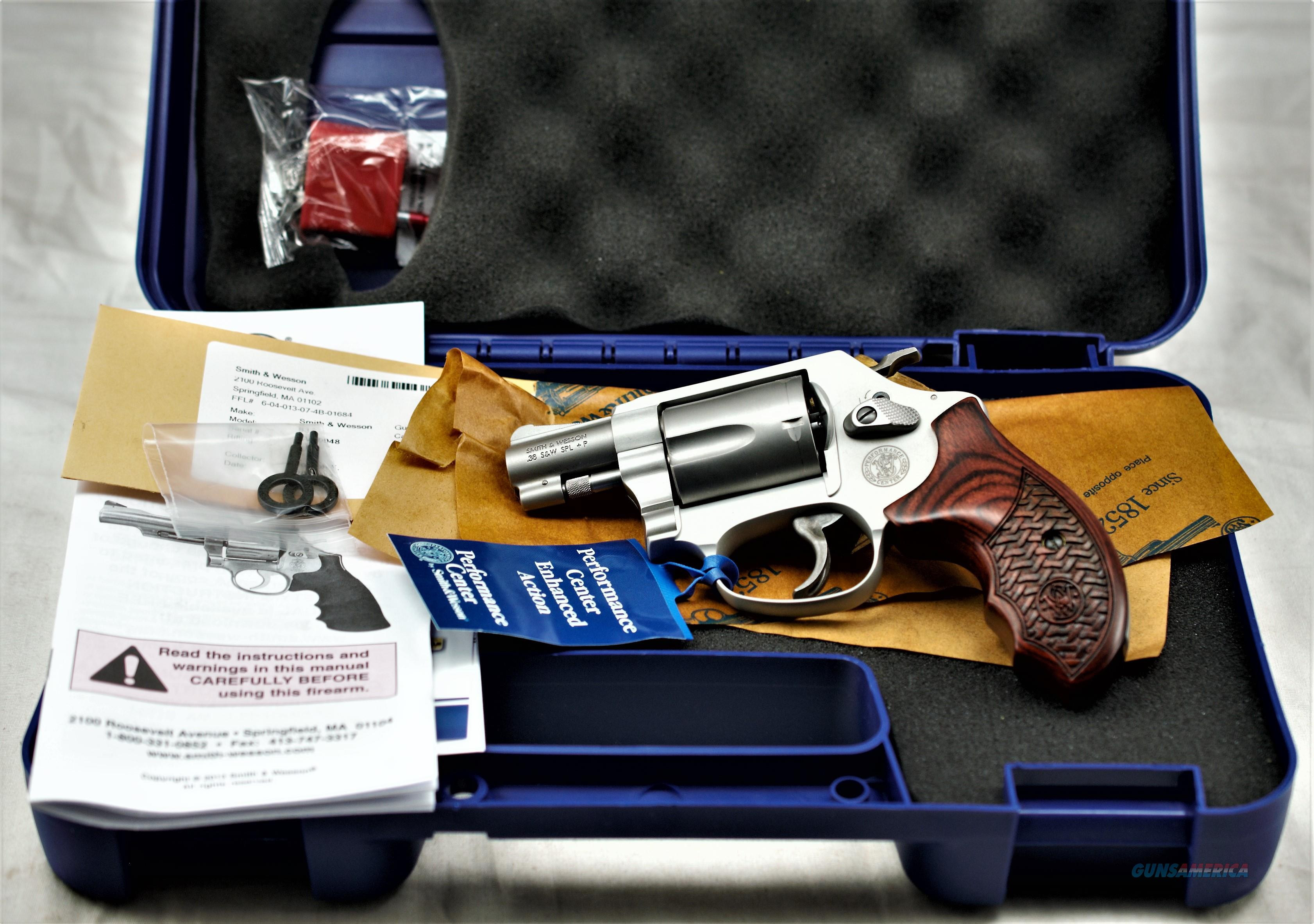 S & W 637-2 38 SPL +P Performance Center   Guns > Pistols > Smith & Wesson Revolvers > Performance Center