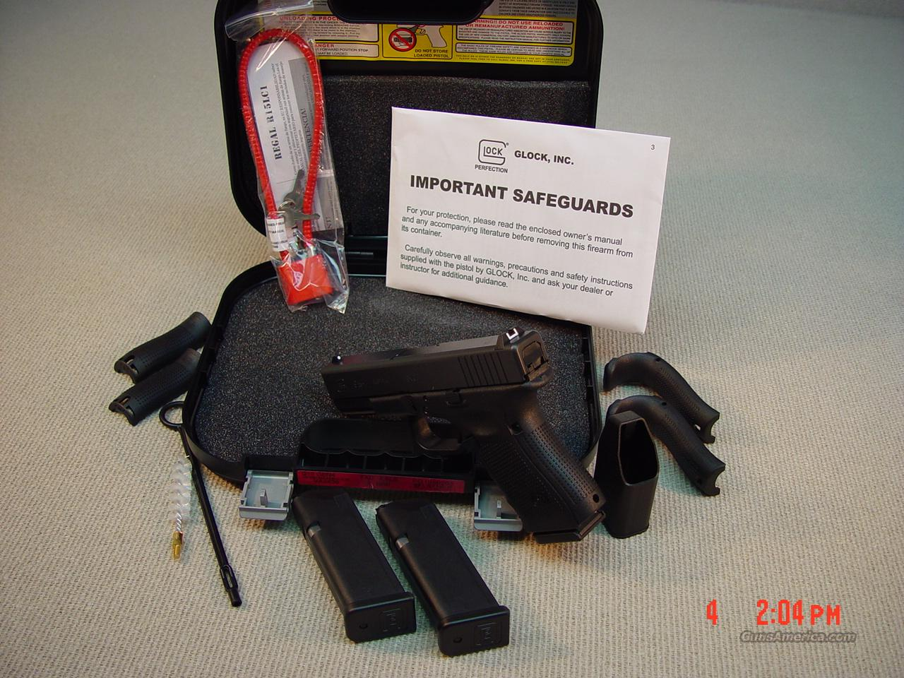 GLOCK 22 40S&W Gen 4   Guns > Pistols > Glock Pistols > 19/19X